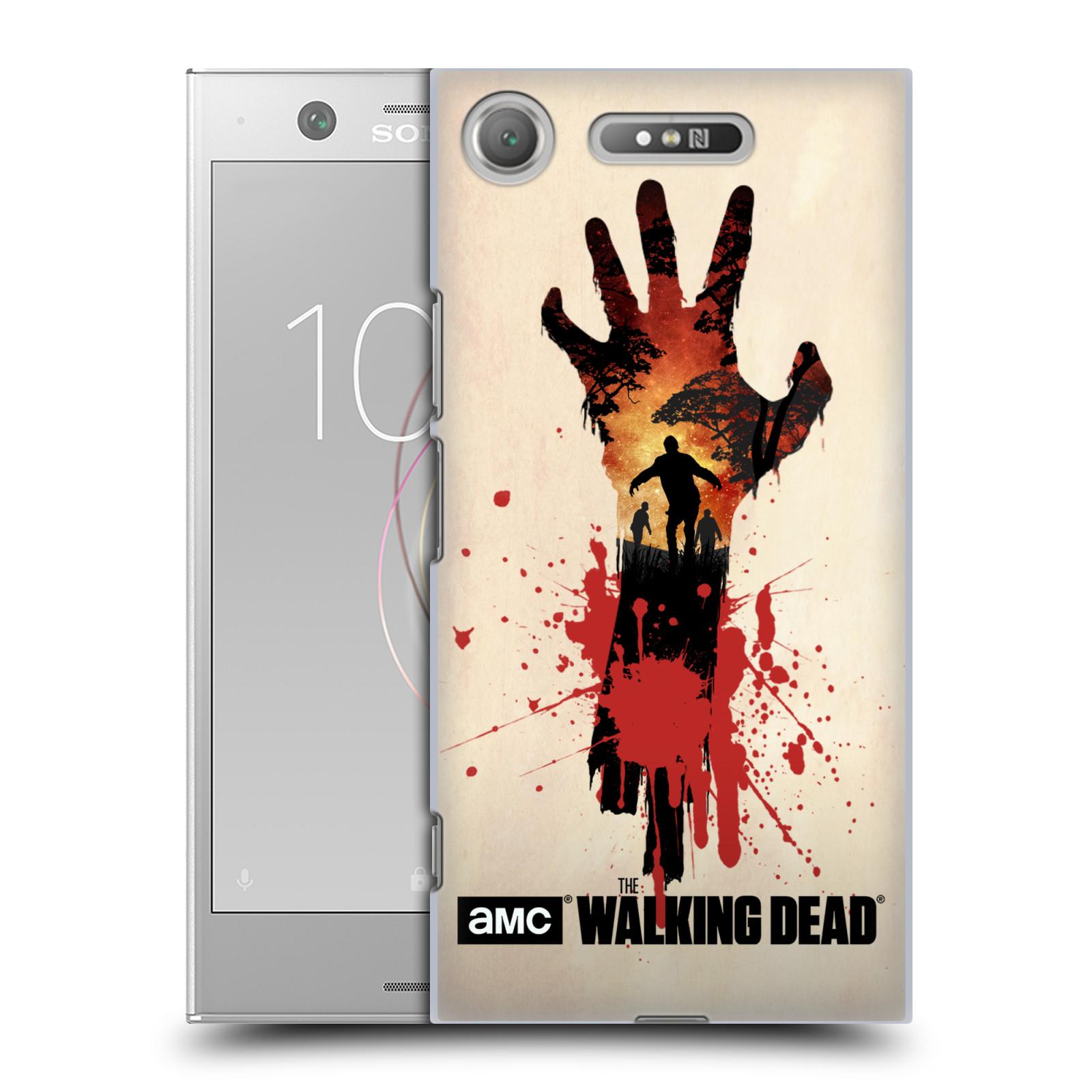 Plastové pouzdro na mobil Sony Xperia XZ1 - Head Case - Živí mrtví - Ruka
