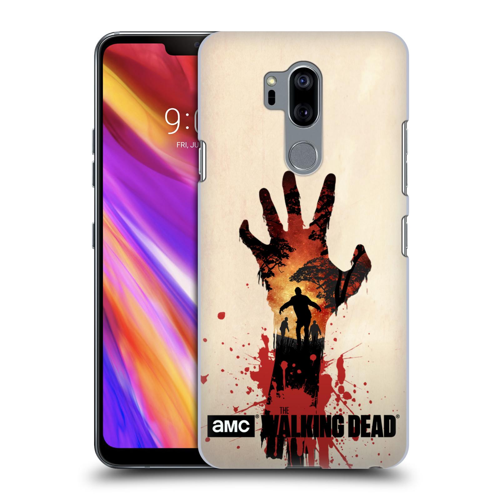 Plastové pouzdro na mobil LG G7 ThinQ - Head Case - Živí mrtví - Ruka
