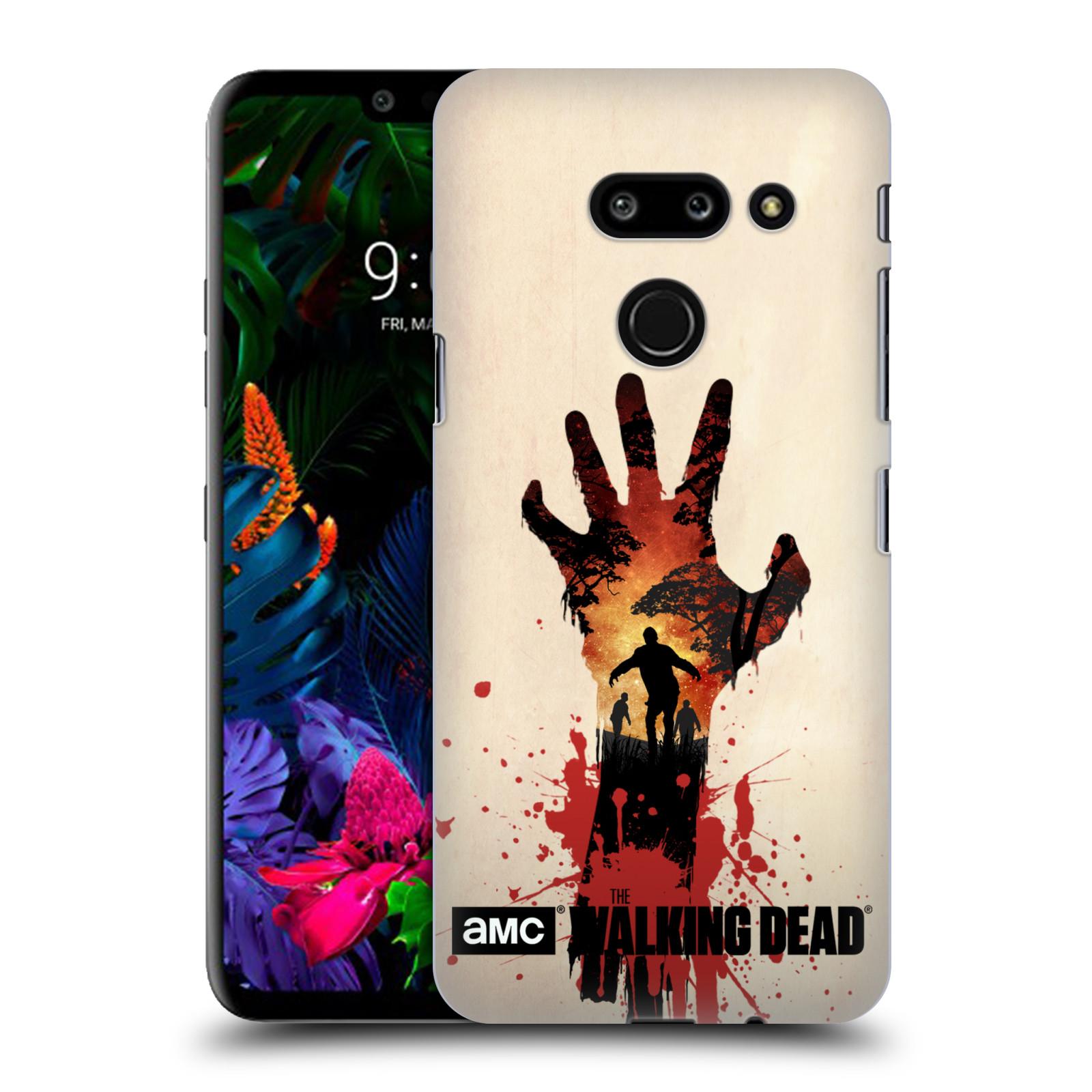 Plastové pouzdro na mobil LG G8 ThinQ - Head Case - Živí mrtví - Ruka