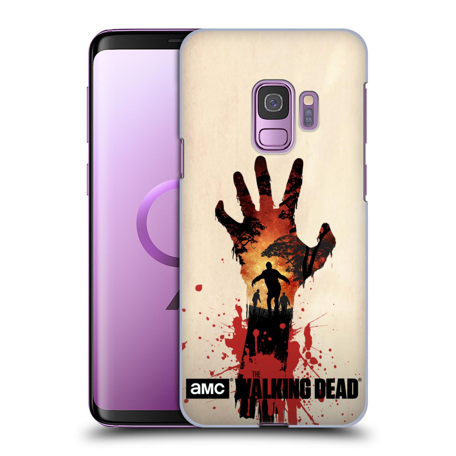 Plastové pouzdro na mobil Samsung Galaxy S9 - Head Case - Živí mrtví - Ruka