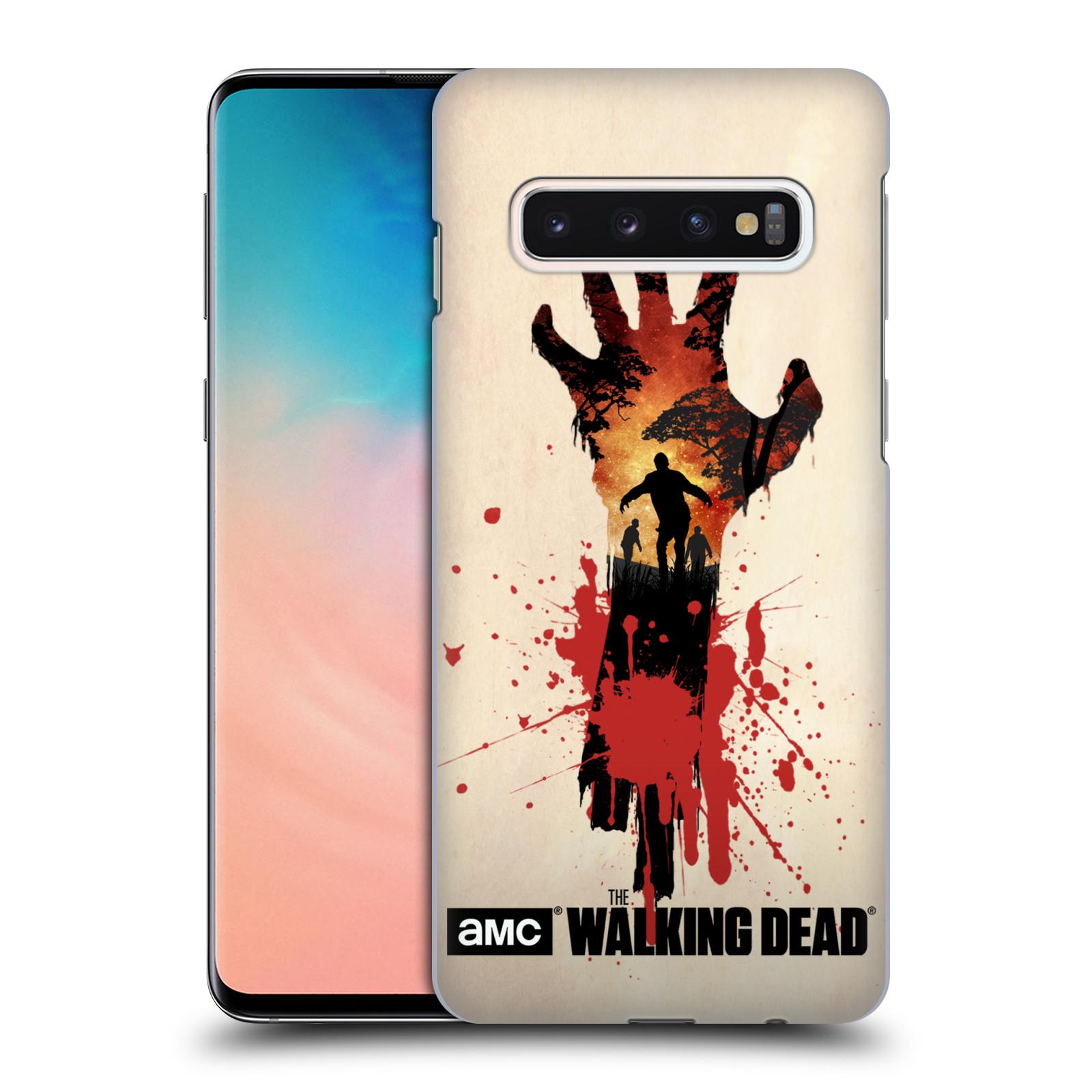 Plastové pouzdro na mobil Samsung Galaxy S10 - Head Case - Živí mrtví - Ruka