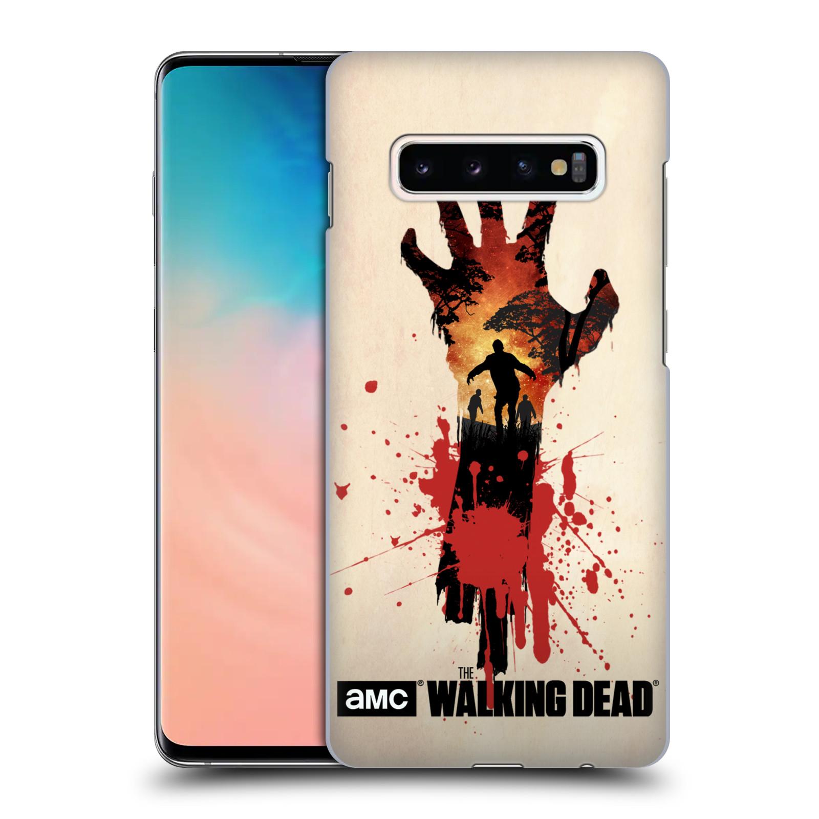 Plastové pouzdro na mobil Samsung Galaxy S10 Plus - Head Case - Živí mrtví - Ruka