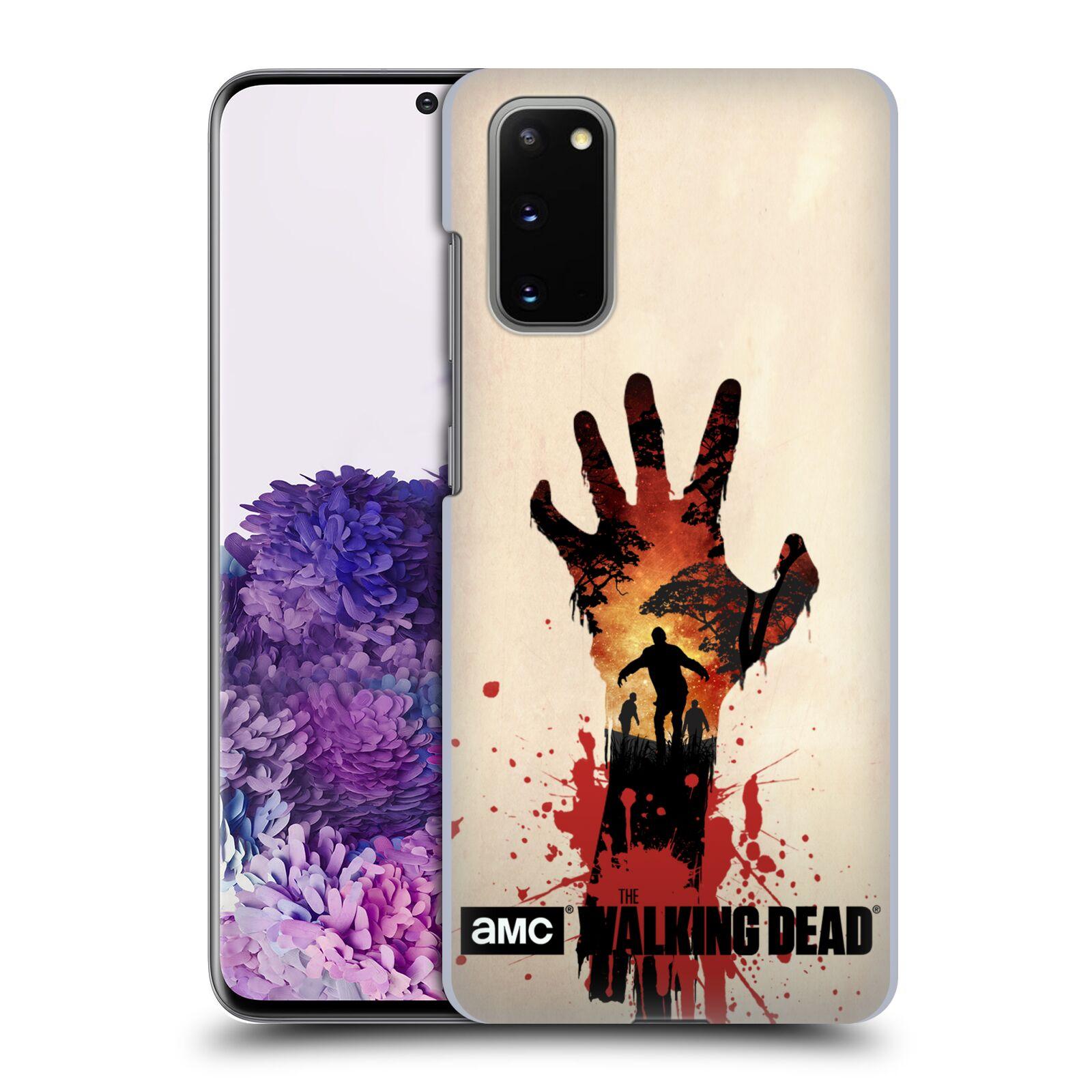 Plastové pouzdro na mobil Samsung Galaxy S20 - Head Case - Živí mrtví - Ruka