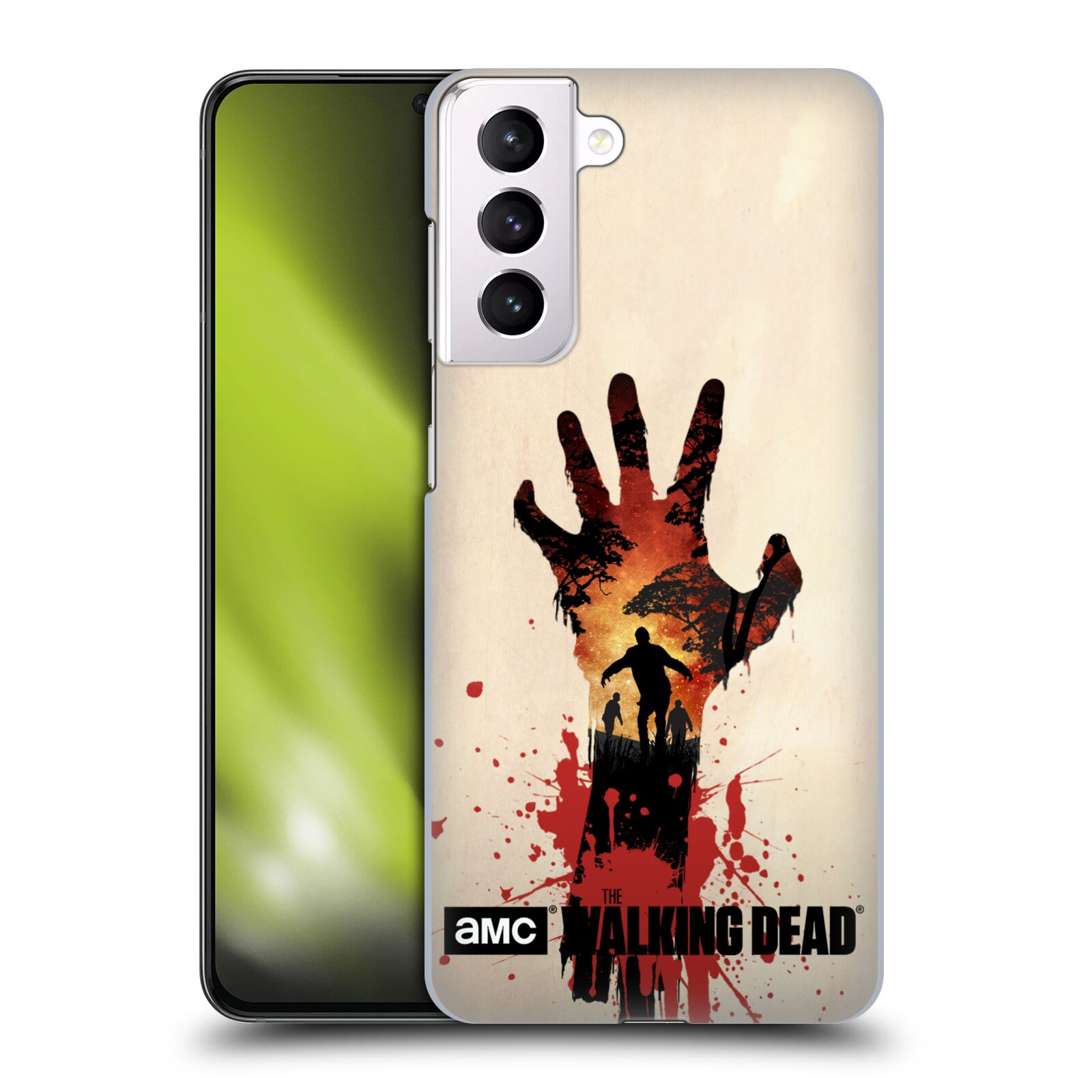 Plastové pouzdro na mobil Samsung Galaxy S21 Plus 5G - Head Case - Živí mrtví - Ruka