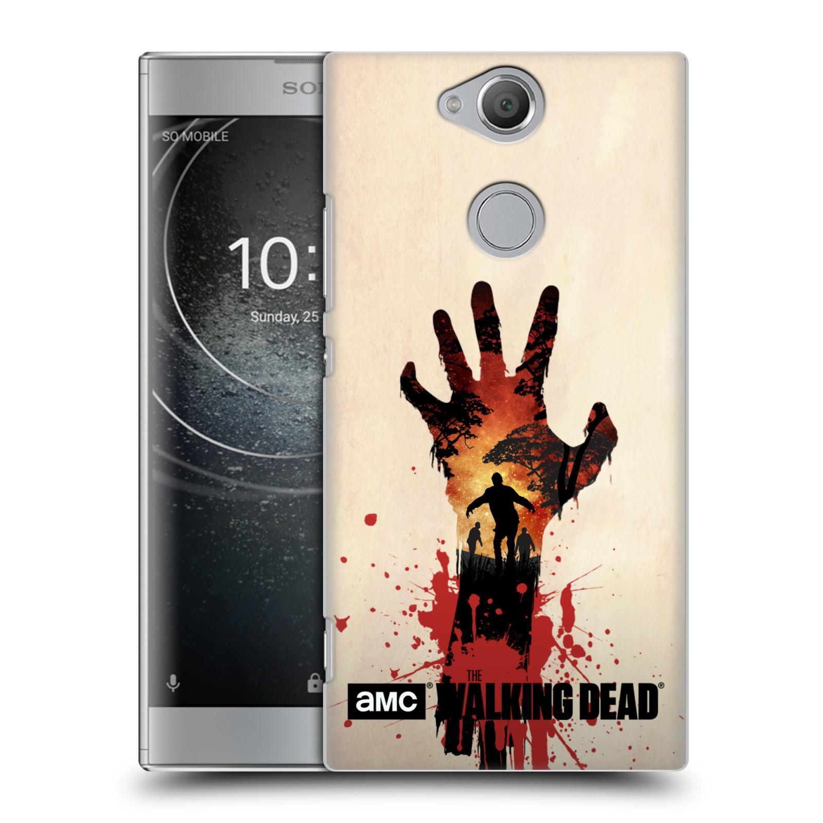 Plastové pouzdro na mobil Sony Xperia XA2 - Head Case - Živí mrtví - Ruka