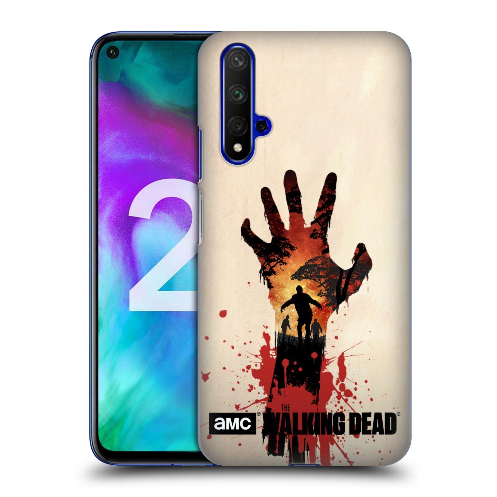 Plastové pouzdro na mobil Honor 20 - Head Case - Živí mrtví - Ruka