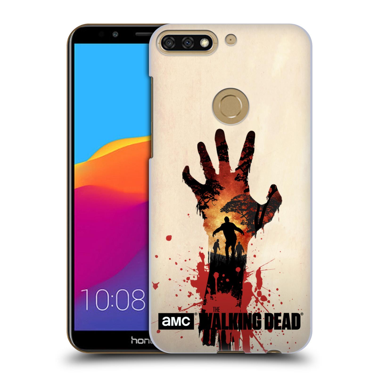 Plastové pouzdro na mobil Huawei Y7 Prime 2018 - Head Case - Živí mrtví - Ruka
