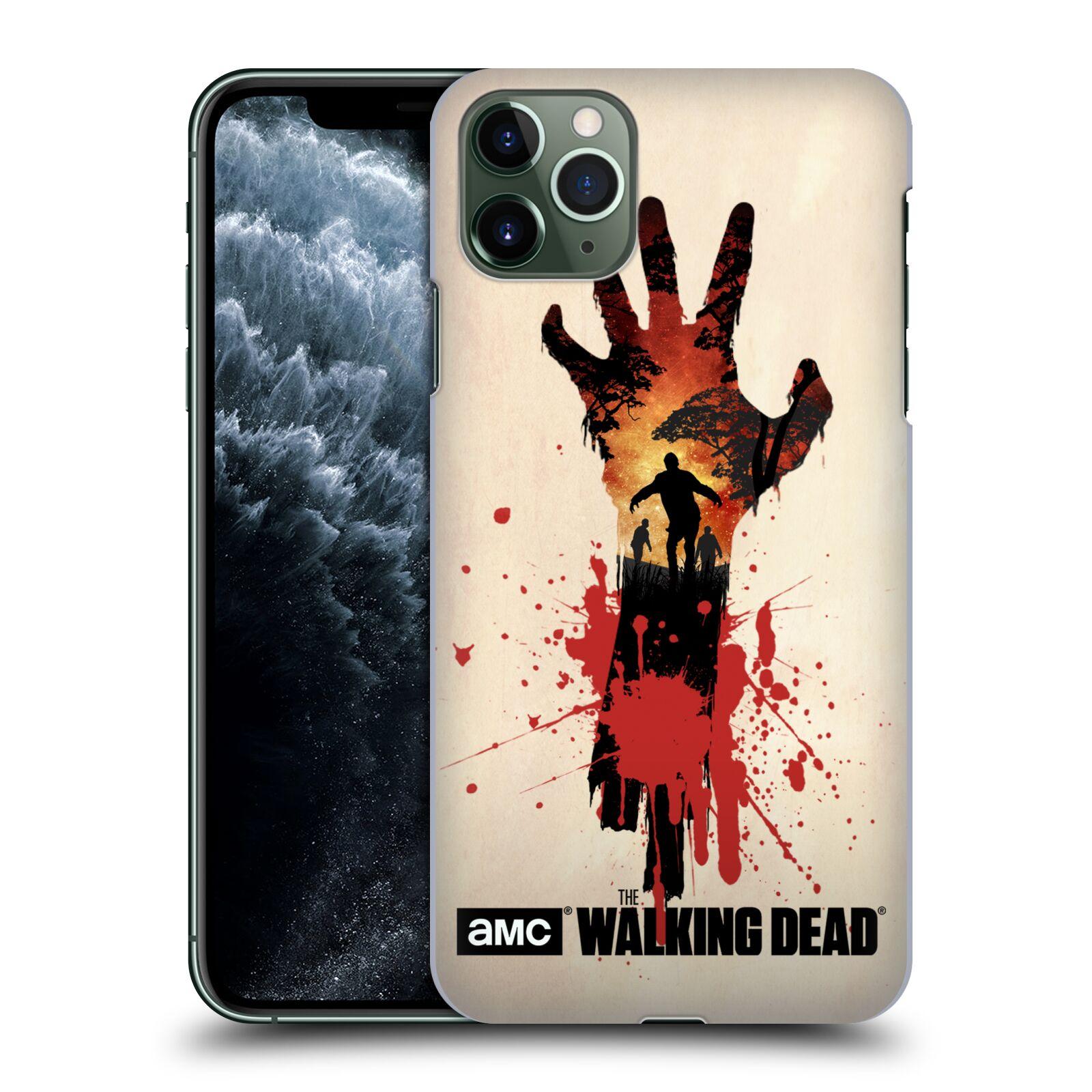 Plastové pouzdro na mobil Apple iPhone 11 Pro Max - Head Case - Živí mrtví - Ruka