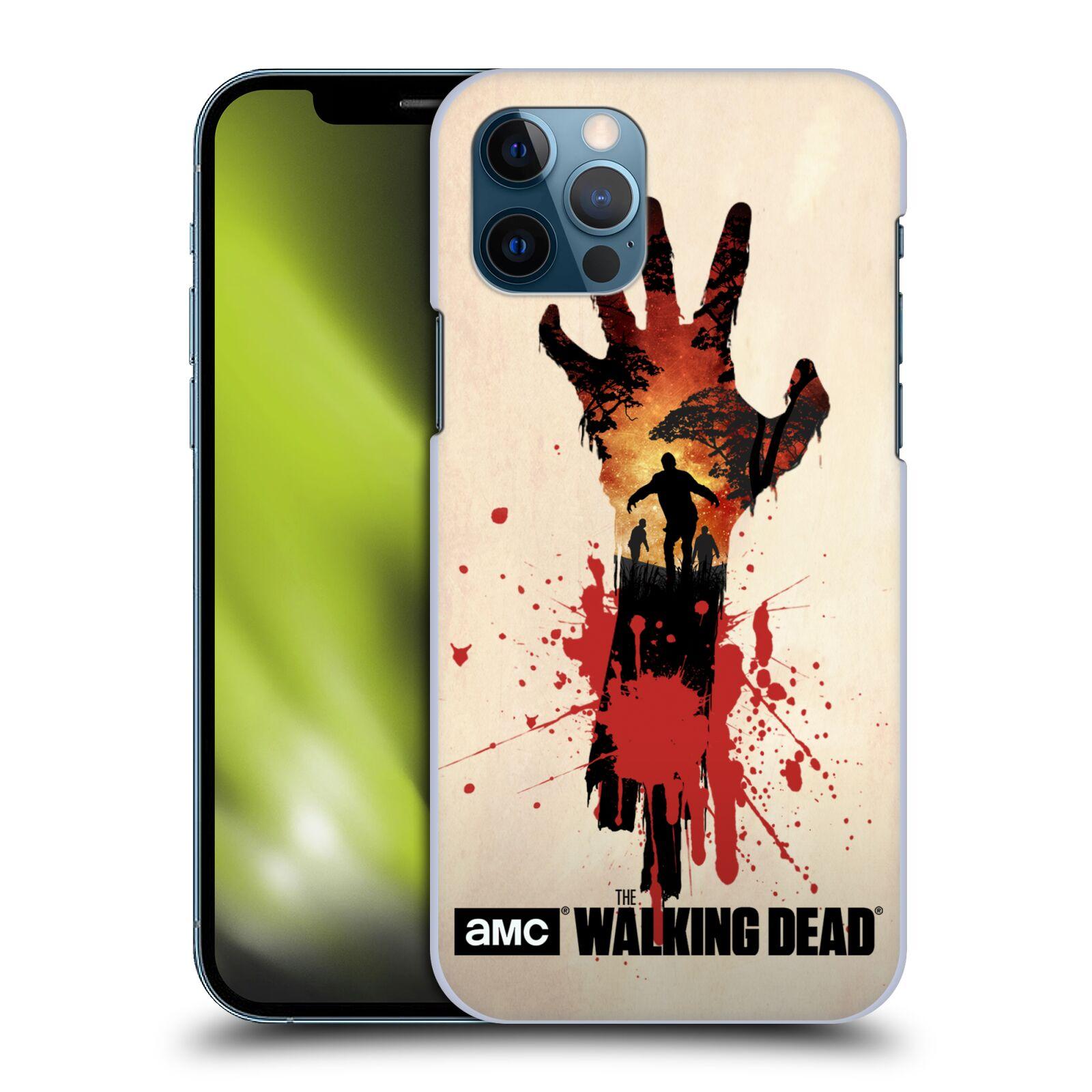 Plastové pouzdro na mobil Apple iPhone 12 / 12 Pro - Head Case - Živí mrtví - Ruka