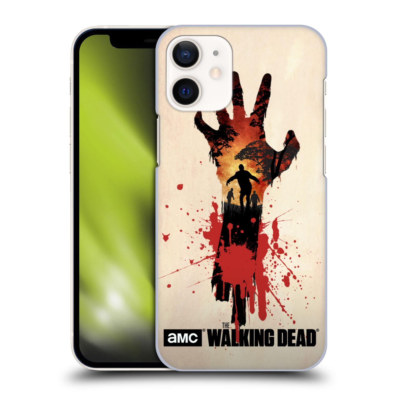 Plastové pouzdro na mobil Apple iPhone 12 Mini - Head Case - Živí mrtví - Ruka