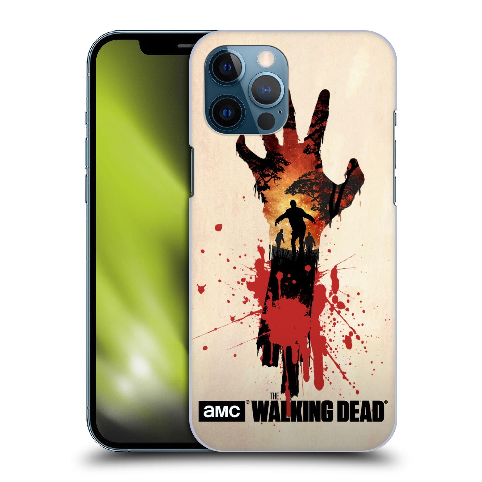 Plastové pouzdro na mobil Apple iPhone 12 Pro Max - Head Case - Živí mrtví - Ruka