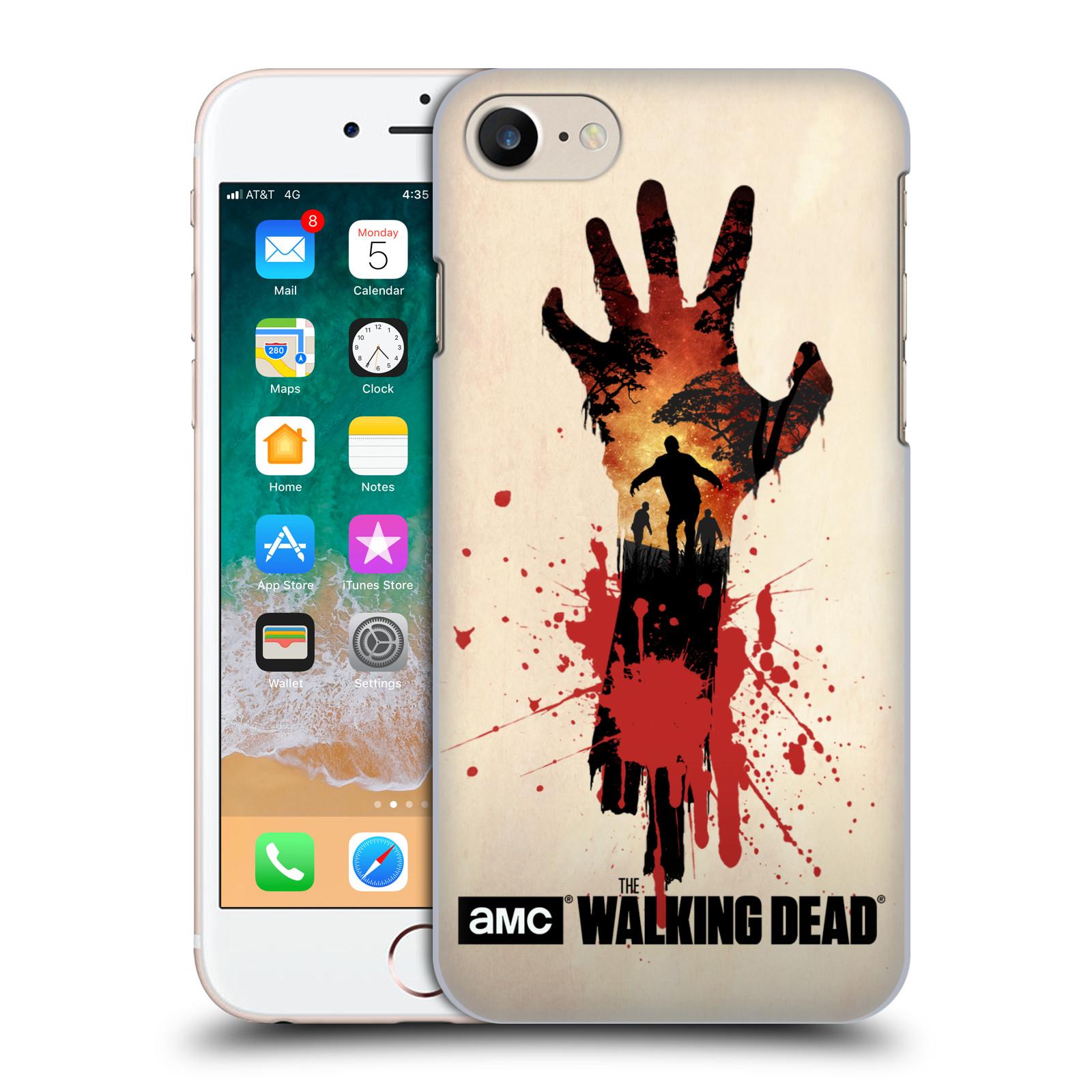 Plastové pouzdro na mobil Apple iPhone SE (2020) - Head Case - Živí mrtví - Ruka
