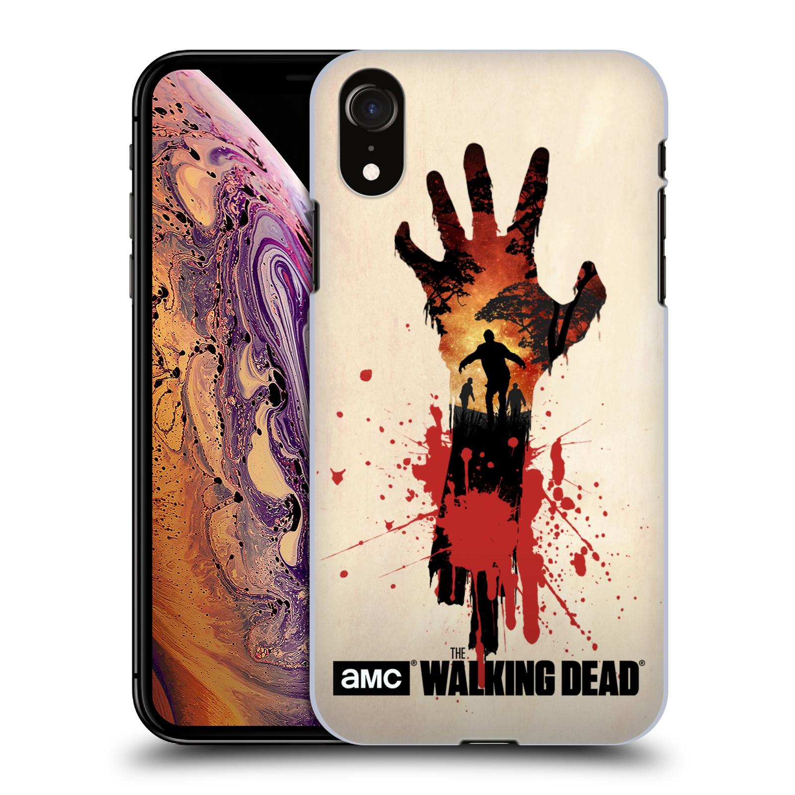 Plastové pouzdro na mobil Apple iPhone XR - Head Case - Živí mrtví - Ruka