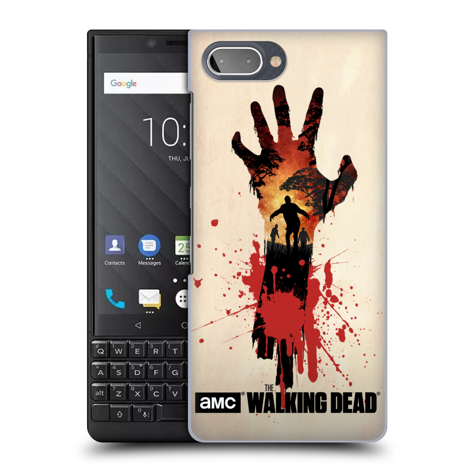 Plastové pouzdro na mobil Blackberry Key 2 - Head Case - Živí mrtví - Ruka
