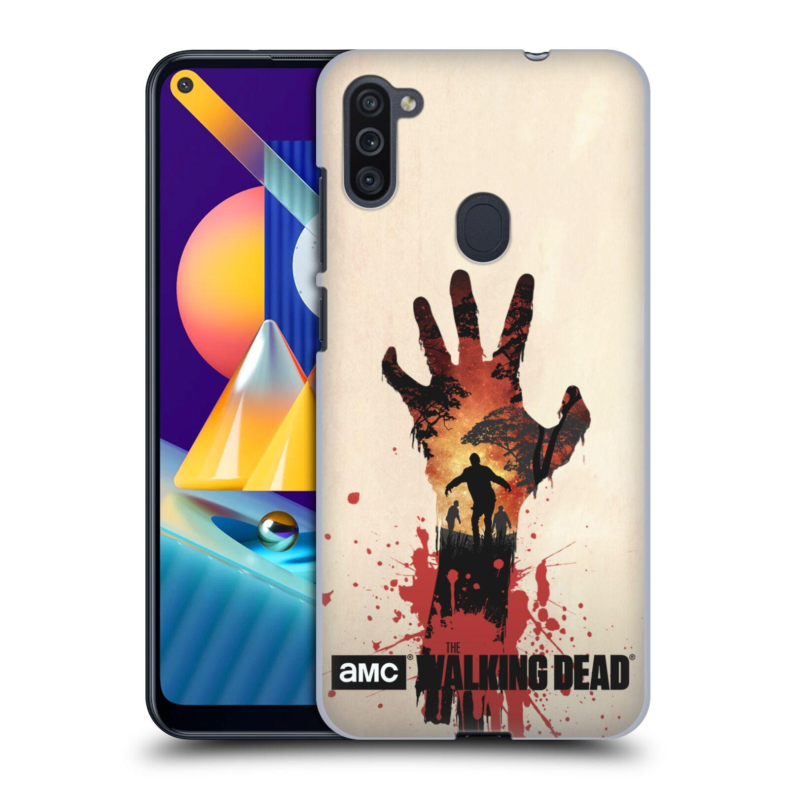 Plastové pouzdro na mobil Samsung Galaxy M11 - Head Case - Živí mrtví - Ruka