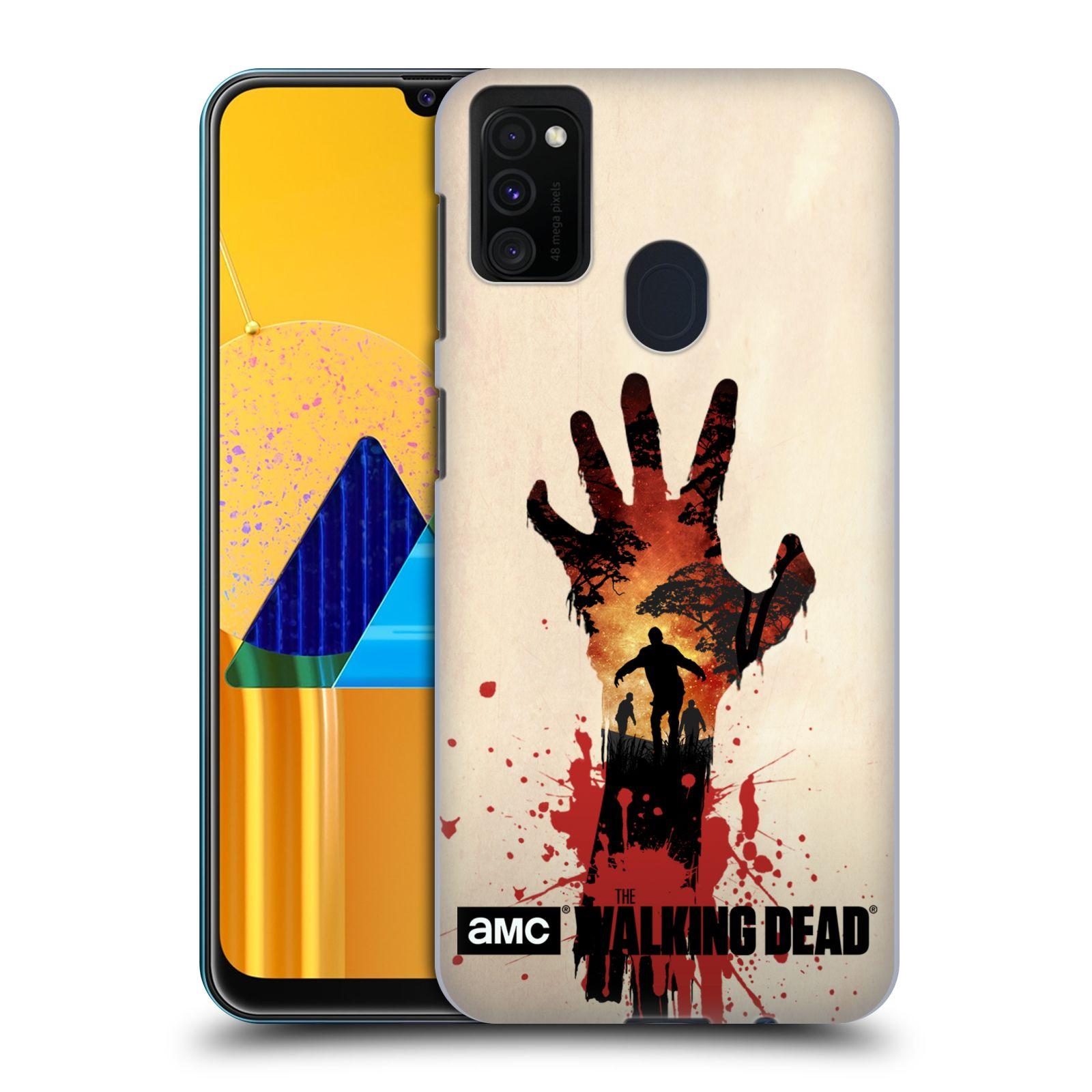 Plastové pouzdro na mobil Samsung Galaxy M21 - Head Case - Živí mrtví - Ruka