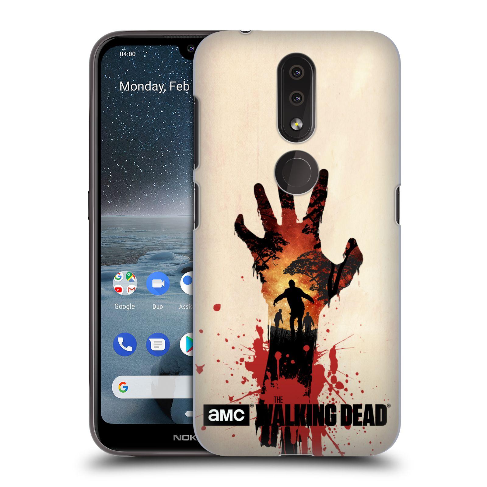 Plastové pouzdro na mobil Nokia 4.2 - Head Case - Živí mrtví - Ruka