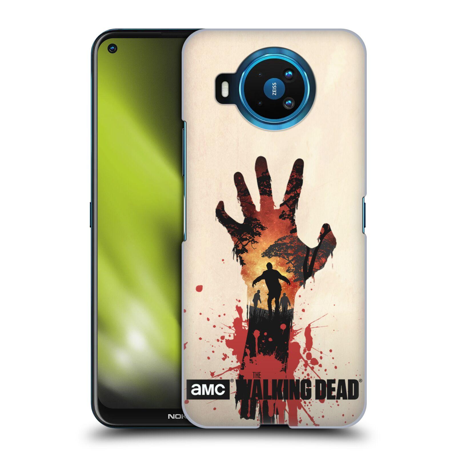 Plastové pouzdro na mobil Nokia 8.3 5G - Head Case - Živí mrtví - Ruka