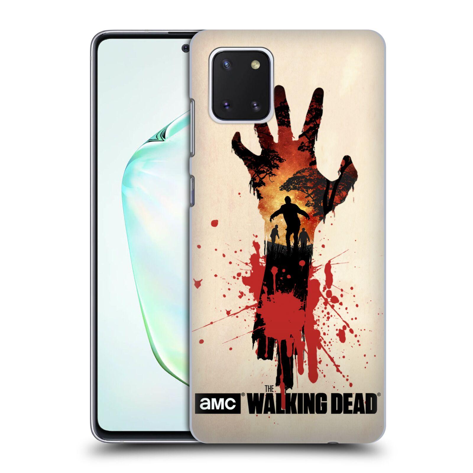 Plastové pouzdro na mobil Samsung Galaxy Note 10 Lite - Head Case - Živí mrtví - Ruka