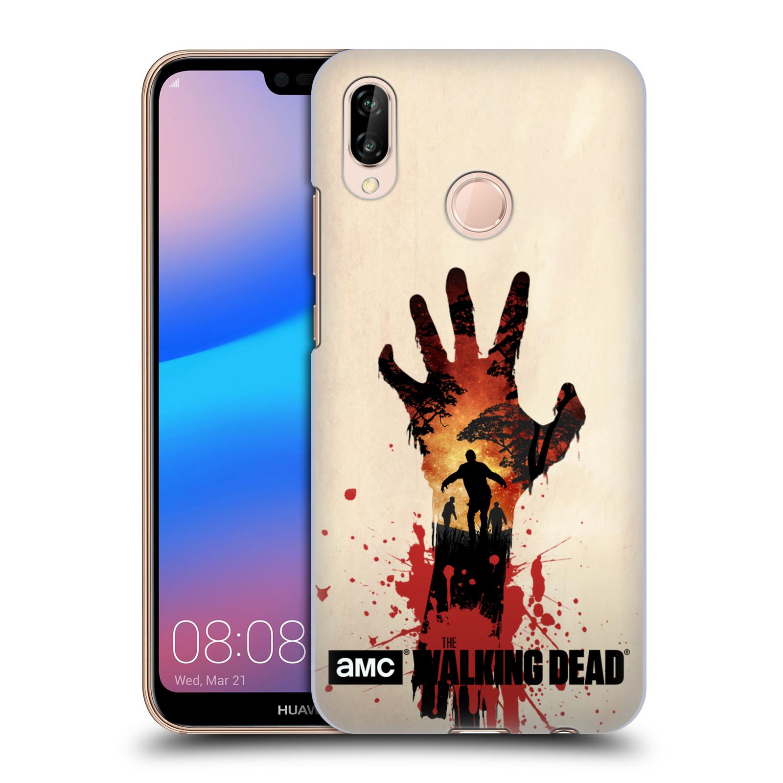 Plastové pouzdro na mobil Huawei P20 Lite - Head Case - Živí mrtví - Ruka