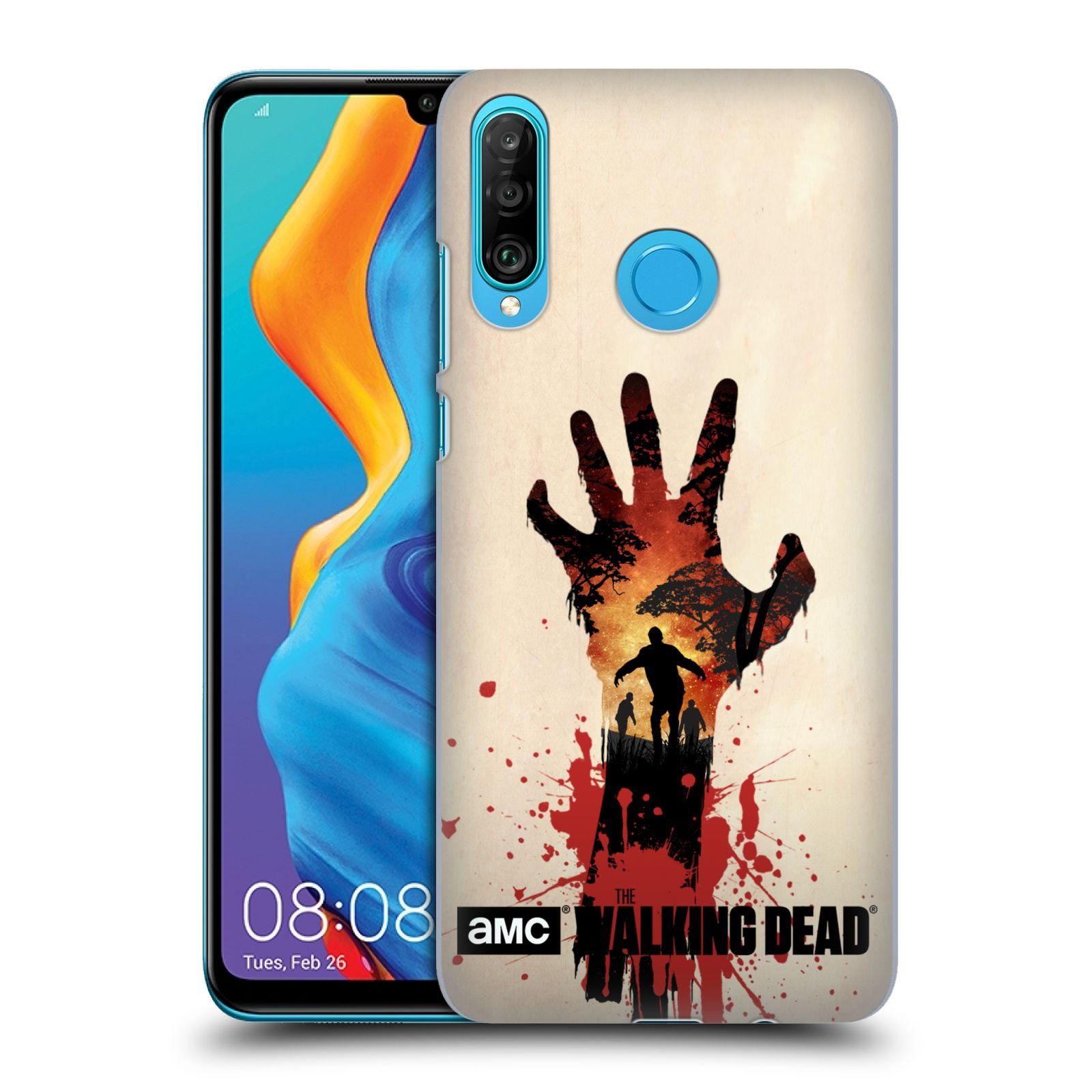 Plastové pouzdro na mobil Huawei P30 Lite - Head Case - Živí mrtví - Ruka