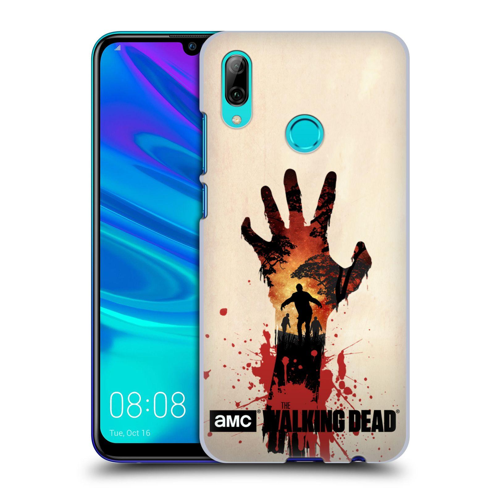 Plastové pouzdro na mobil Huawei P Smart (2019) - Head Case - Živí mrtví - Ruka