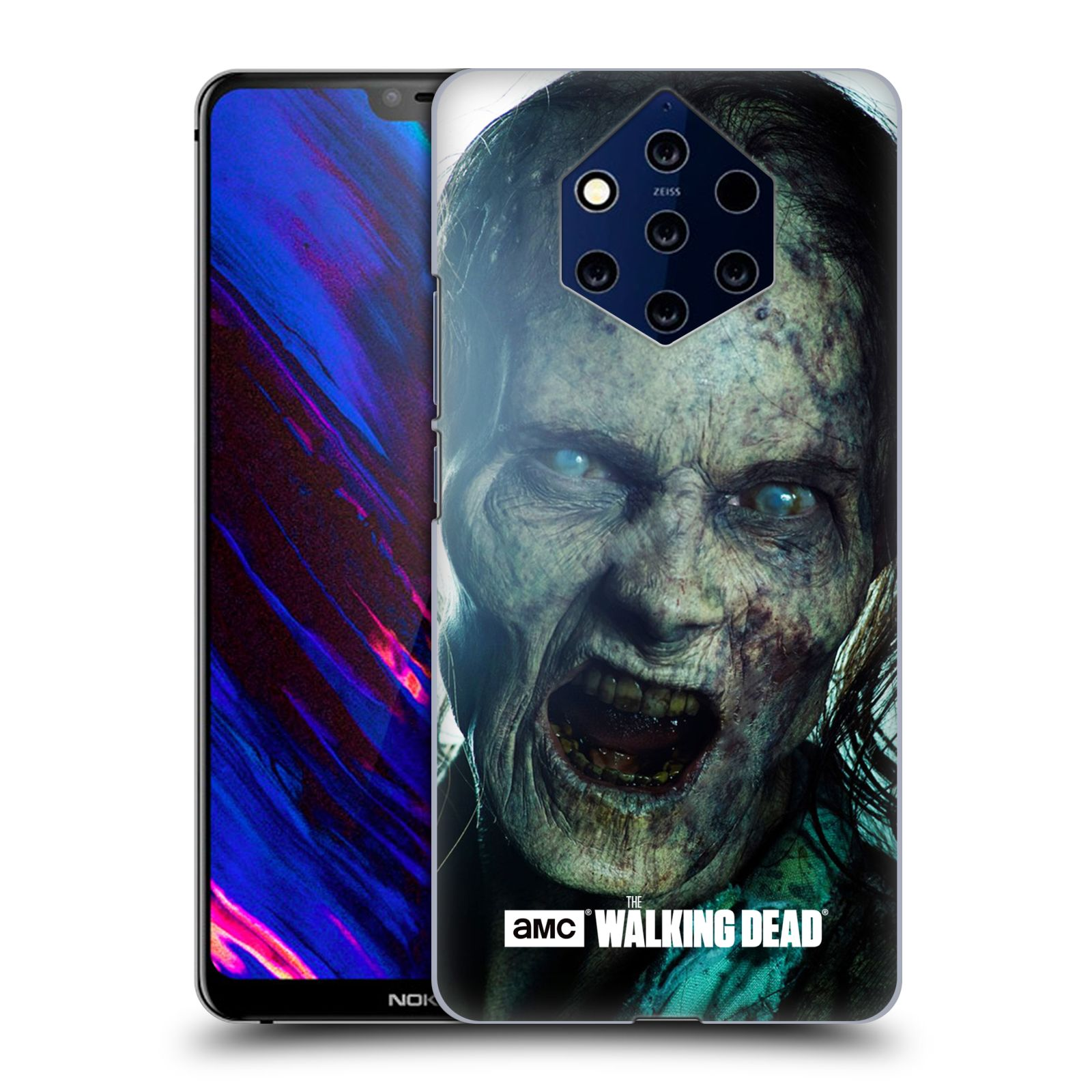 Plastové pouzdro na mobil Nokia 9 PureView - Head Case - The Walking Dead - Walker Bite