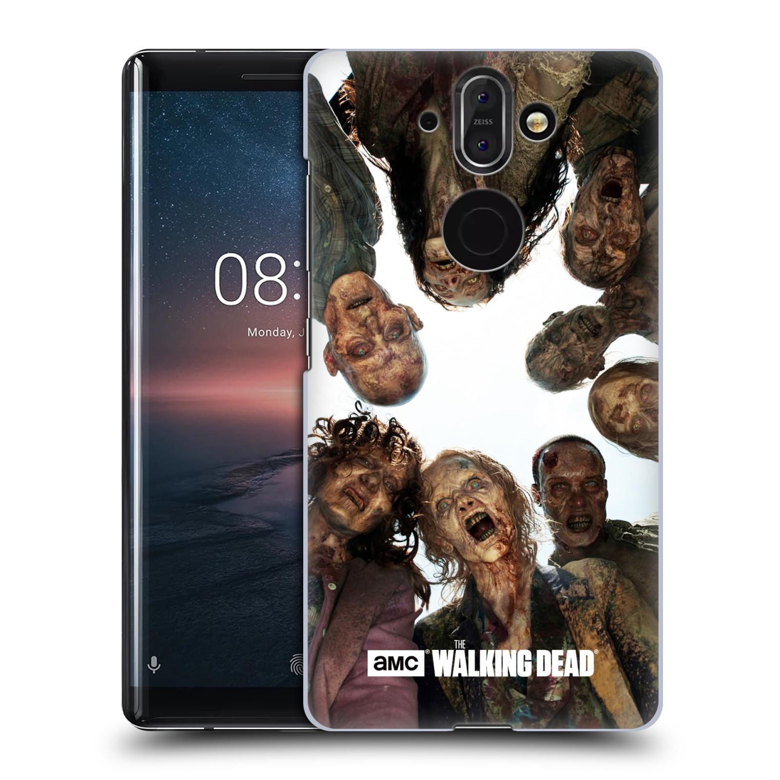 Plastové pouzdro na mobil Nokia 8 Sirocco - Head Case - Živí mrtví - Walkers Group