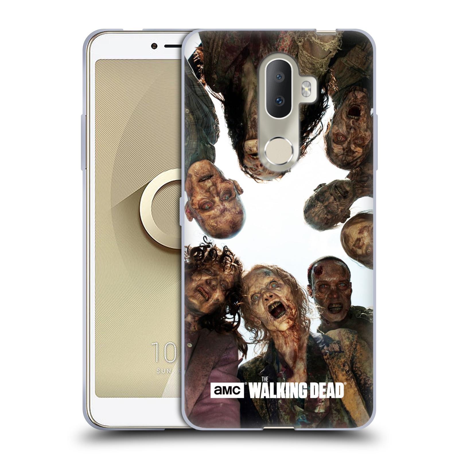 Silikonové pouzdro na mobil Alcatel 3V 5099D - Head Case - Živí mrtví - Walkers Group