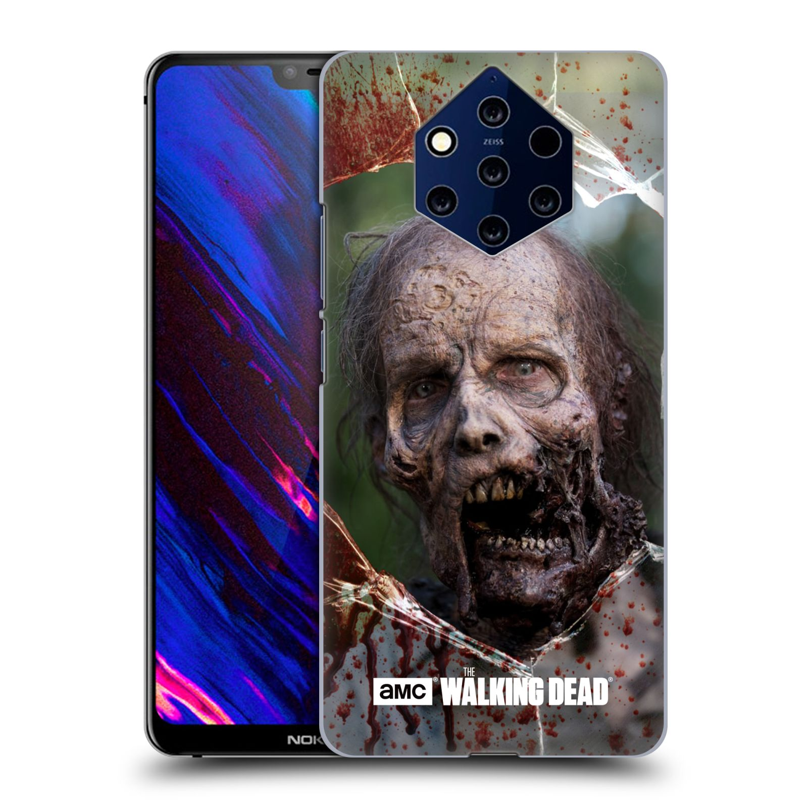 Plastové pouzdro na mobil Nokia 9 PureView - Head Case - The Walking Dead - Walkers Jaw