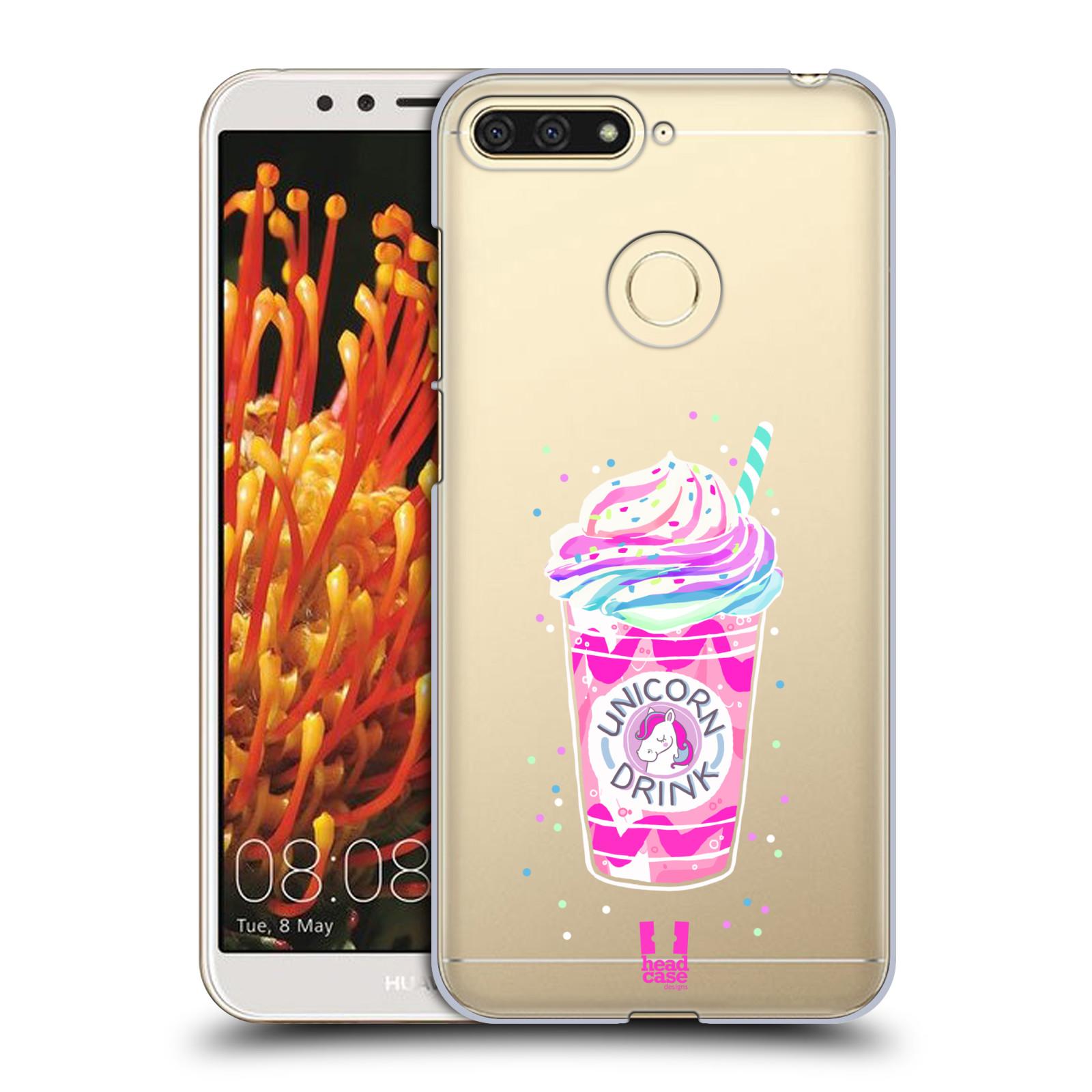 Plastové pouzdro na mobil Huawei Y6 Prime 2018 - Head Case - Unicorn drink