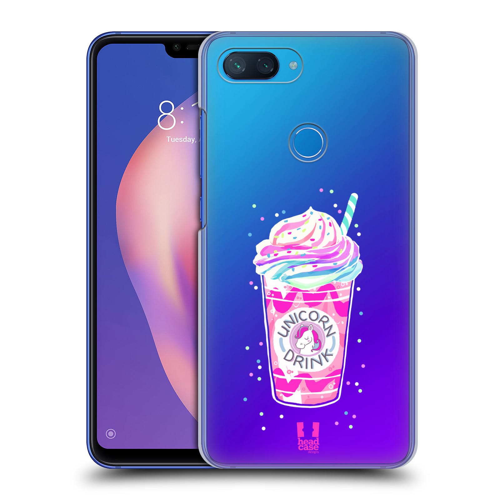 Plastové pouzdro na mobil Xiaomi Mi 8 Lite - Head Case - Unicorn drink
