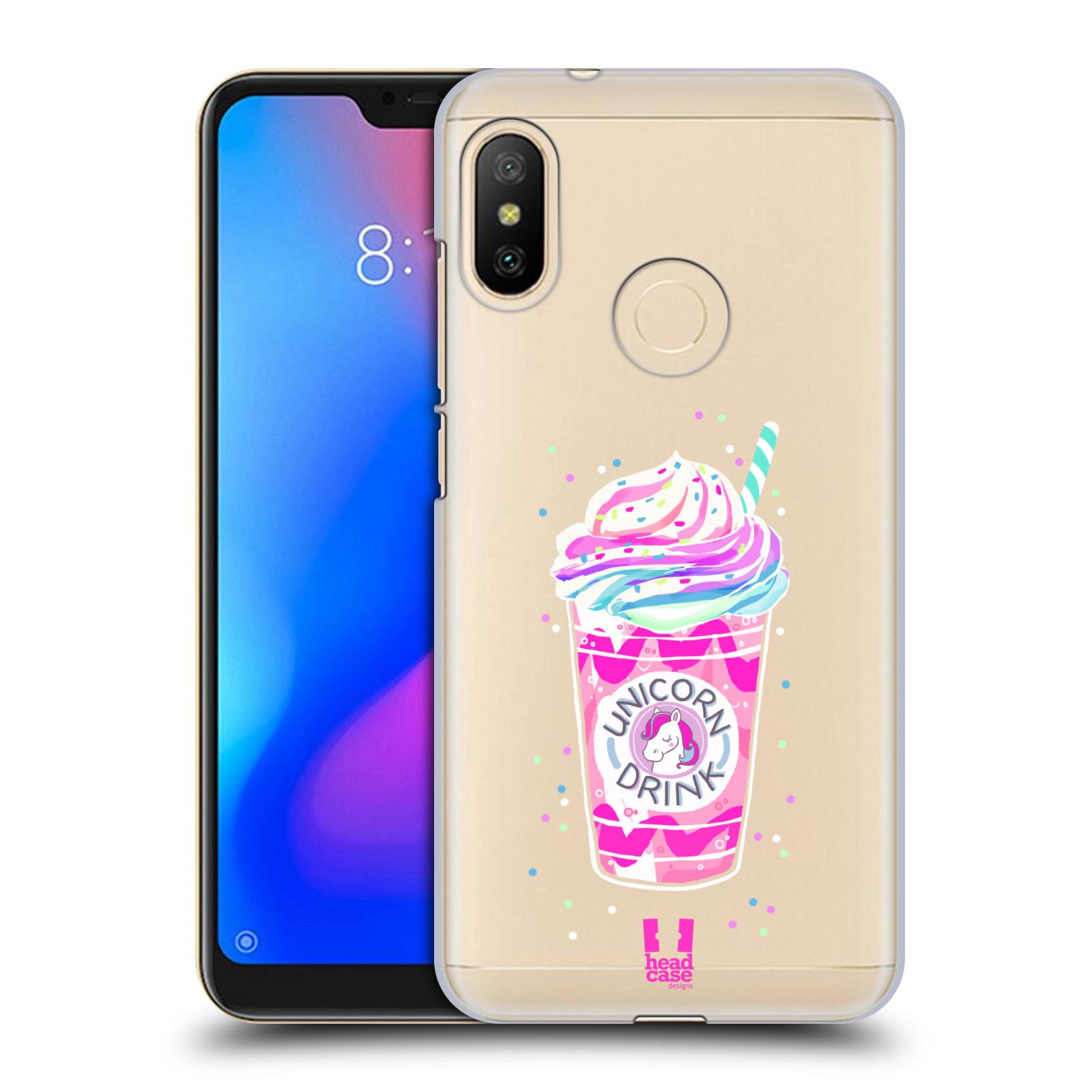 Plastové pouzdro na mobil Xiaomi Mi A2 Lite - Head Case - Unicorn drink