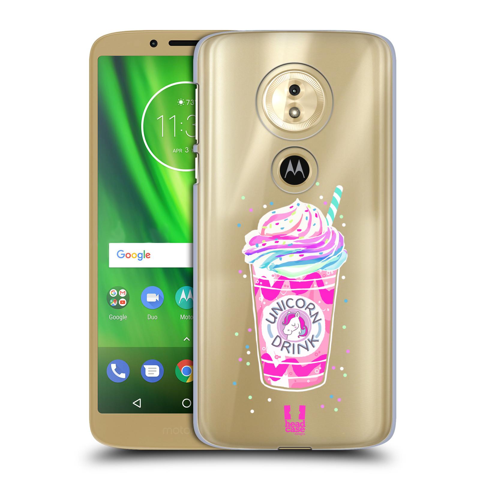 Plastové pouzdro na mobil Motorola Moto G6 Play - Head Case - Unicorn drink