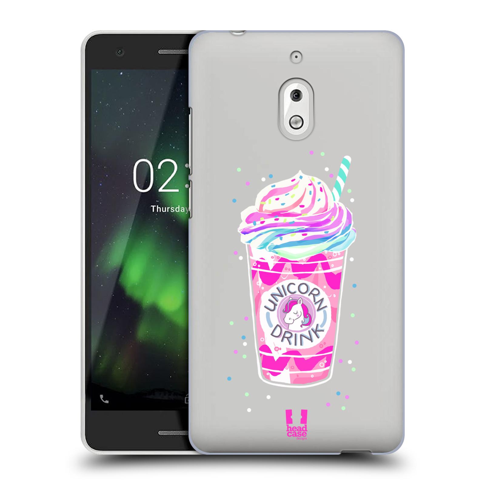 Plastové pouzdro na mobil Nokia 2.1 - Head Case - Unicorn drink
