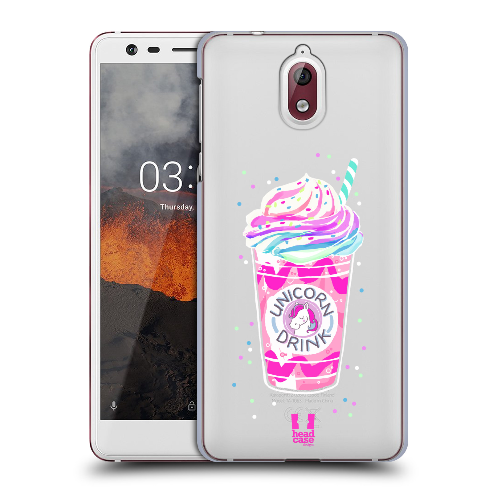 Plastové pouzdro na mobil Nokia 3.1 - Head Case - Unicorn drink