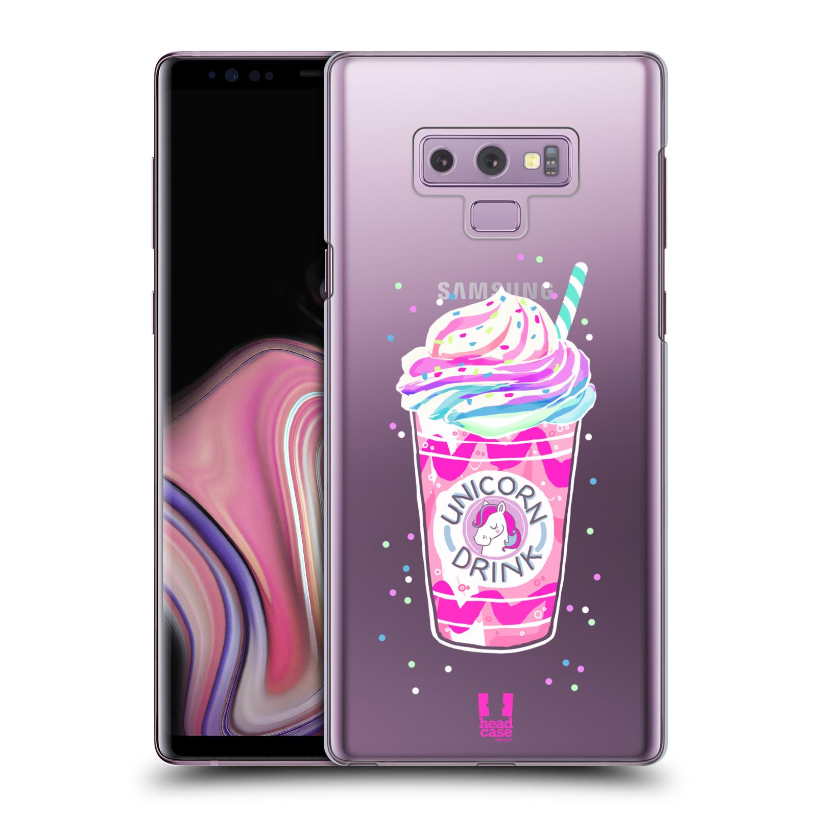 Plastové pouzdro na mobil Samsung Galaxy Note 9 - Head Case - Unicorn drink