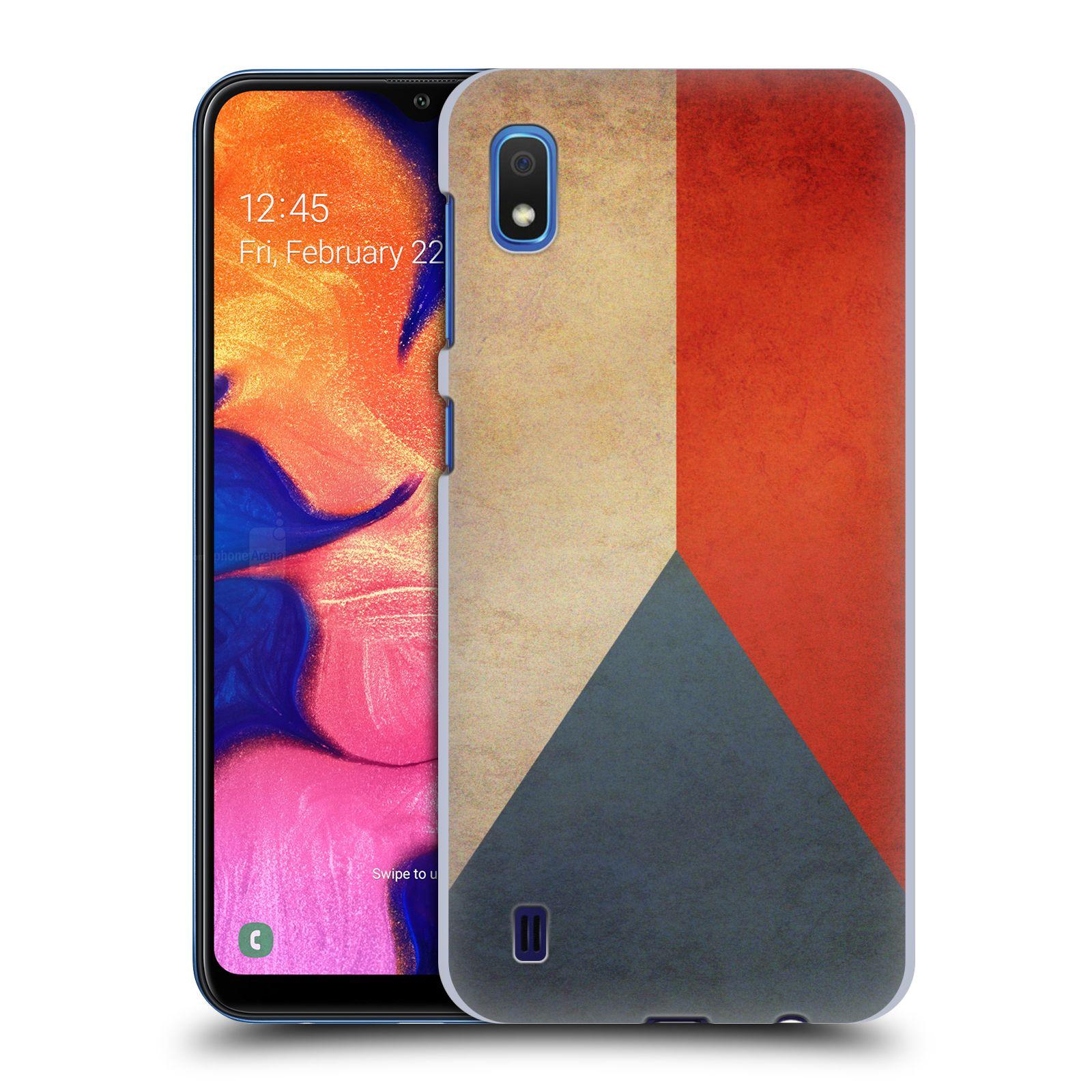 Plastové pouzdro na mobil Samsung Galaxy A10 - Head Case - VLAJKA ČESKÁ REPUBLIKA