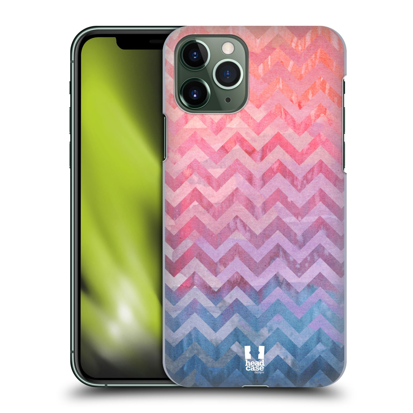 gucci iphone x r case - Plastové pouzdro na mobil Apple iPhone 11 Pro - Head Case - Pink Chevron