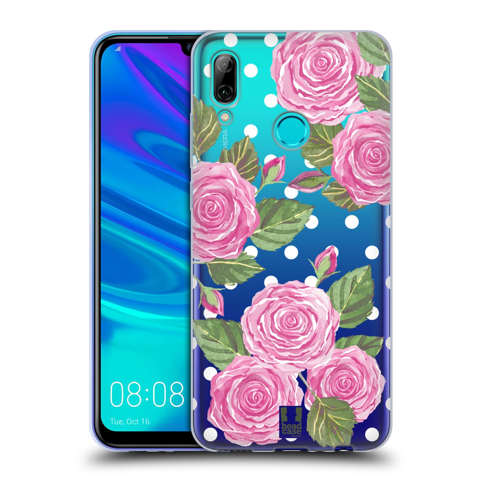 Silikonové pouzdro na mobil Honor 10 Lite - Head Case - Hezoučké růžičky - průhledné