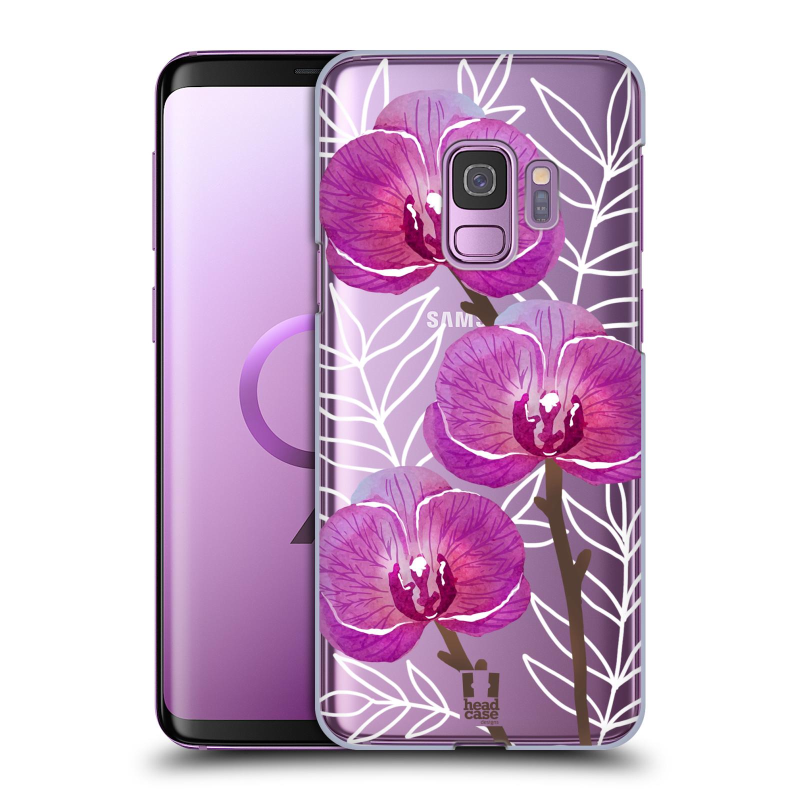 Plastové pouzdro na mobil Samsung Galaxy S9 - Head Case - Hezoučké kvítky - průhledné