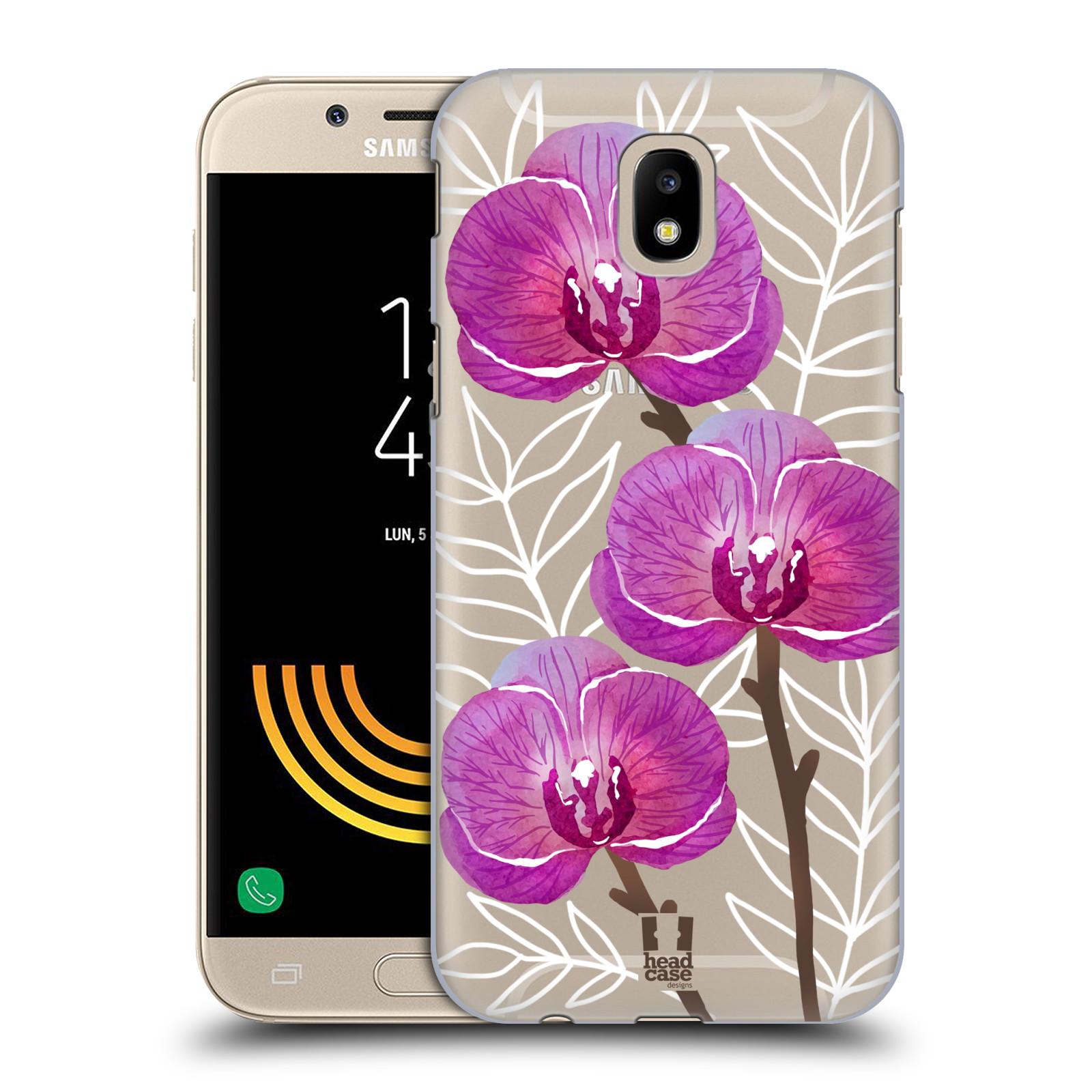 Plastové pouzdro na mobil Samsung Galaxy J5 (2017) - Head Case - Hezoučké kvítky - průhledné