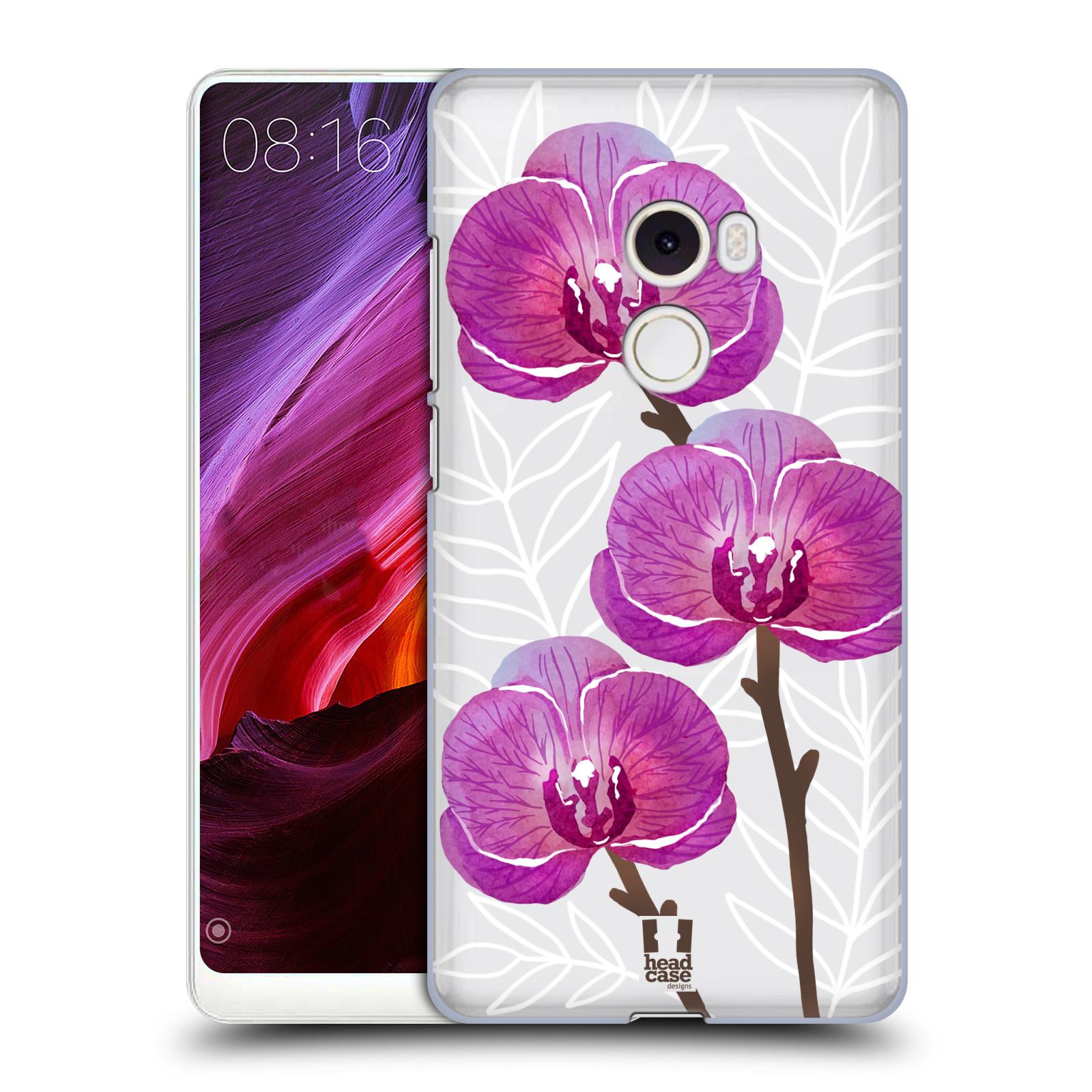 Plastové pouzdro na mobil Xiaomi Mi Mix 2 - Head Case - Hezoučké kvítky - průhledné