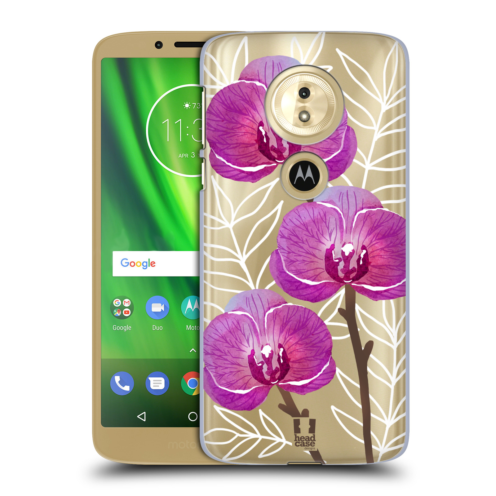 Plastové pouzdro na mobil Motorola Moto G6 Play - Head Case - Hezoučké kvítky - průhledné