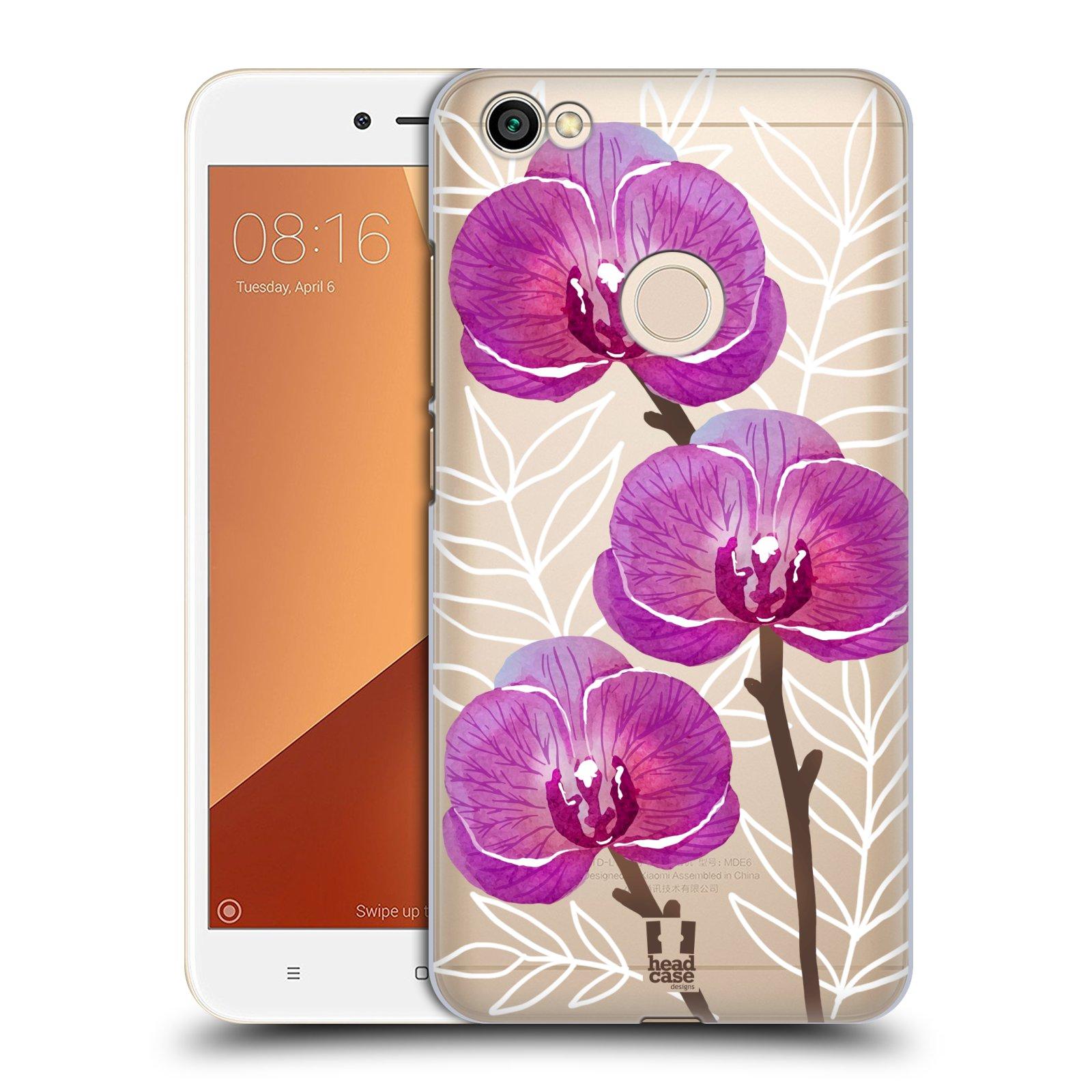 Plastové pouzdro na mobil Xiaomi Redmi Note 5A - Head Case - Hezoučké kvítky - průhledné
