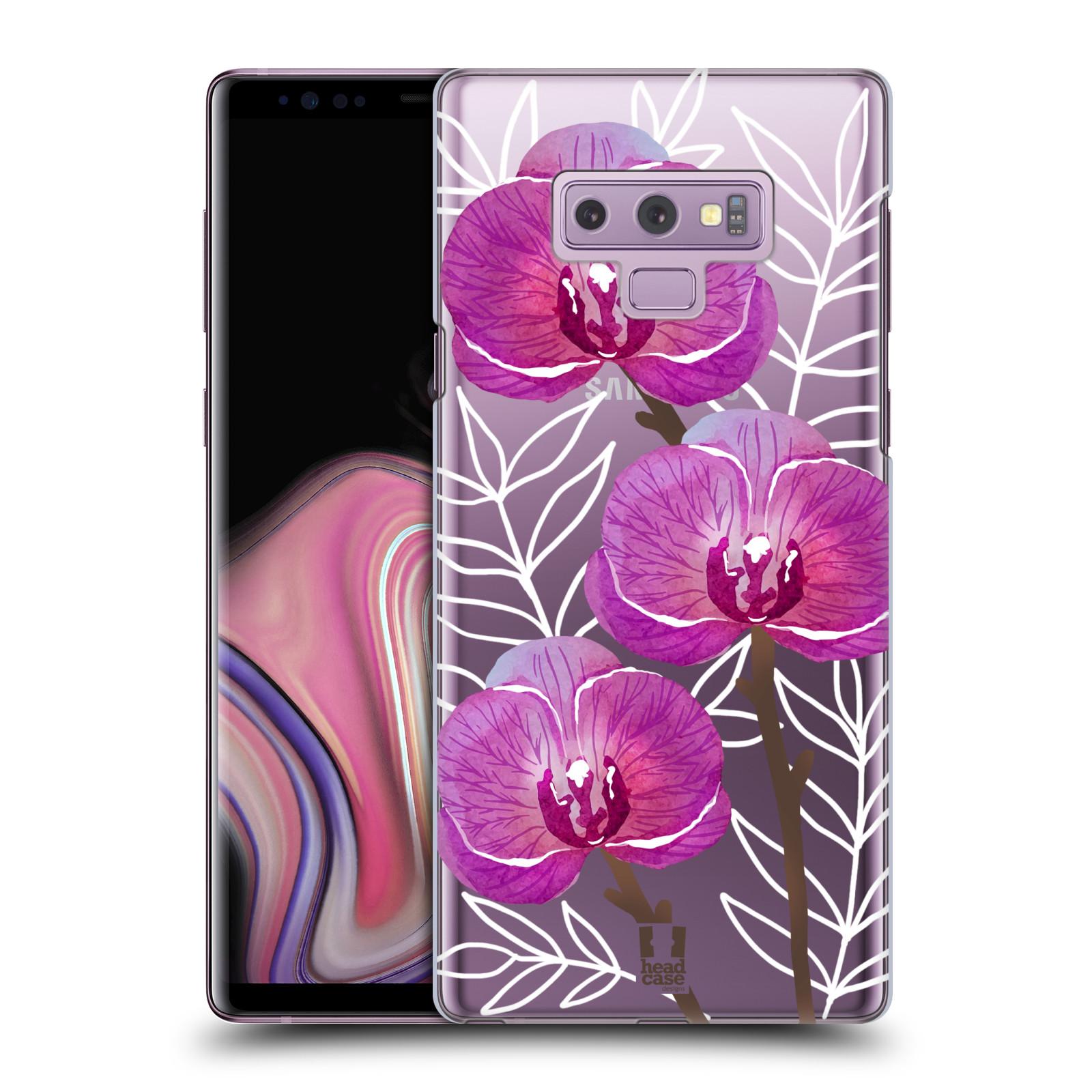 Plastové pouzdro na mobil Samsung Galaxy Note 9 - Head Case - Hezoučké kvítky - průhledné