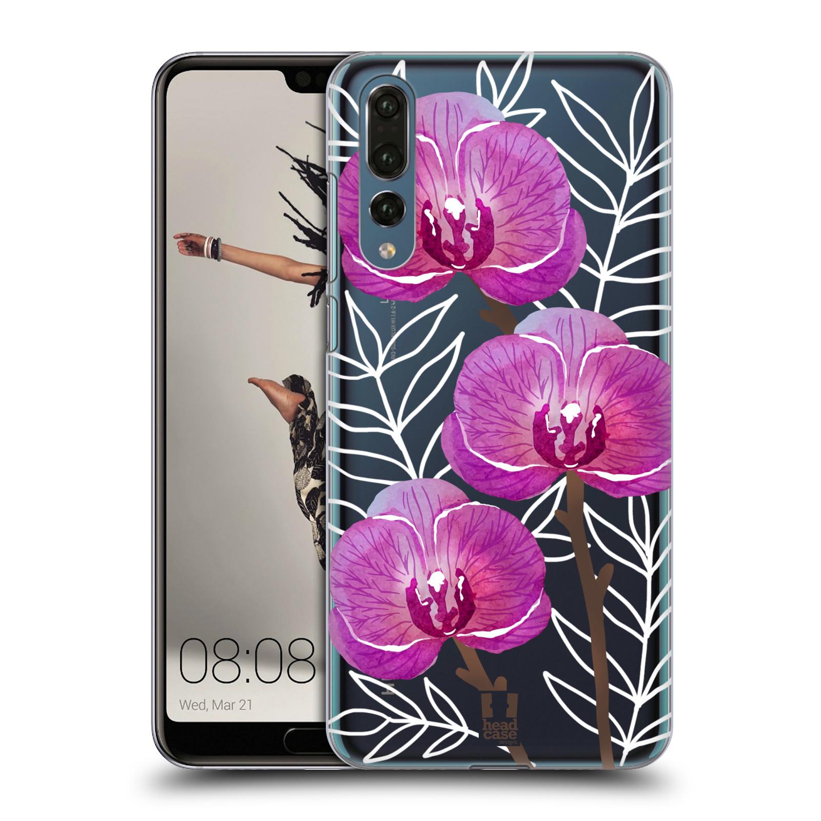 Plastové pouzdro na mobil Huawei P20 Pro - Head Case - Hezoučké kvítky - průhledné
