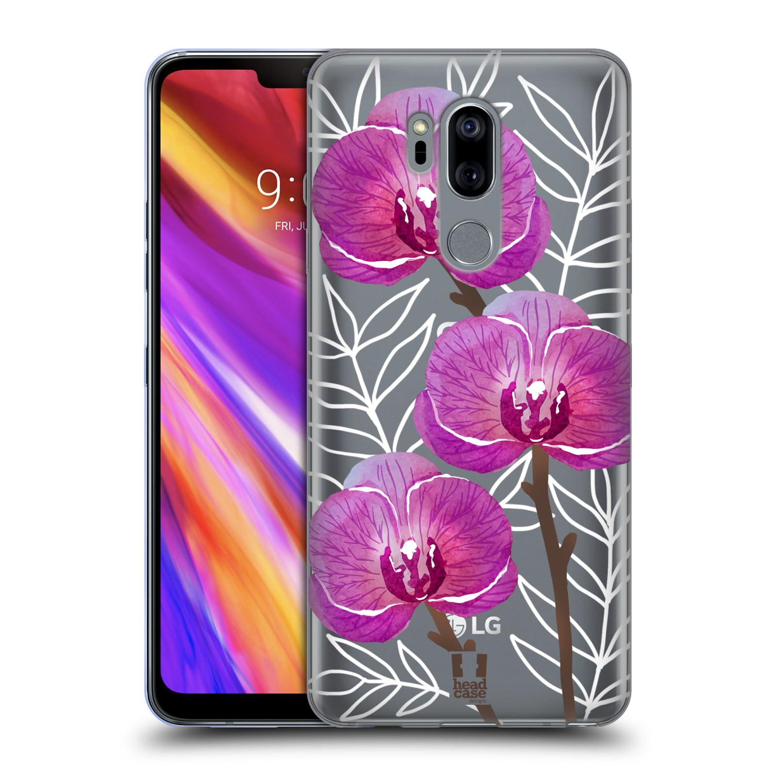 Silikonové pouzdro na mobil LG G7 ThinQ - Head Case - Hezoučké kvítky - průhledné