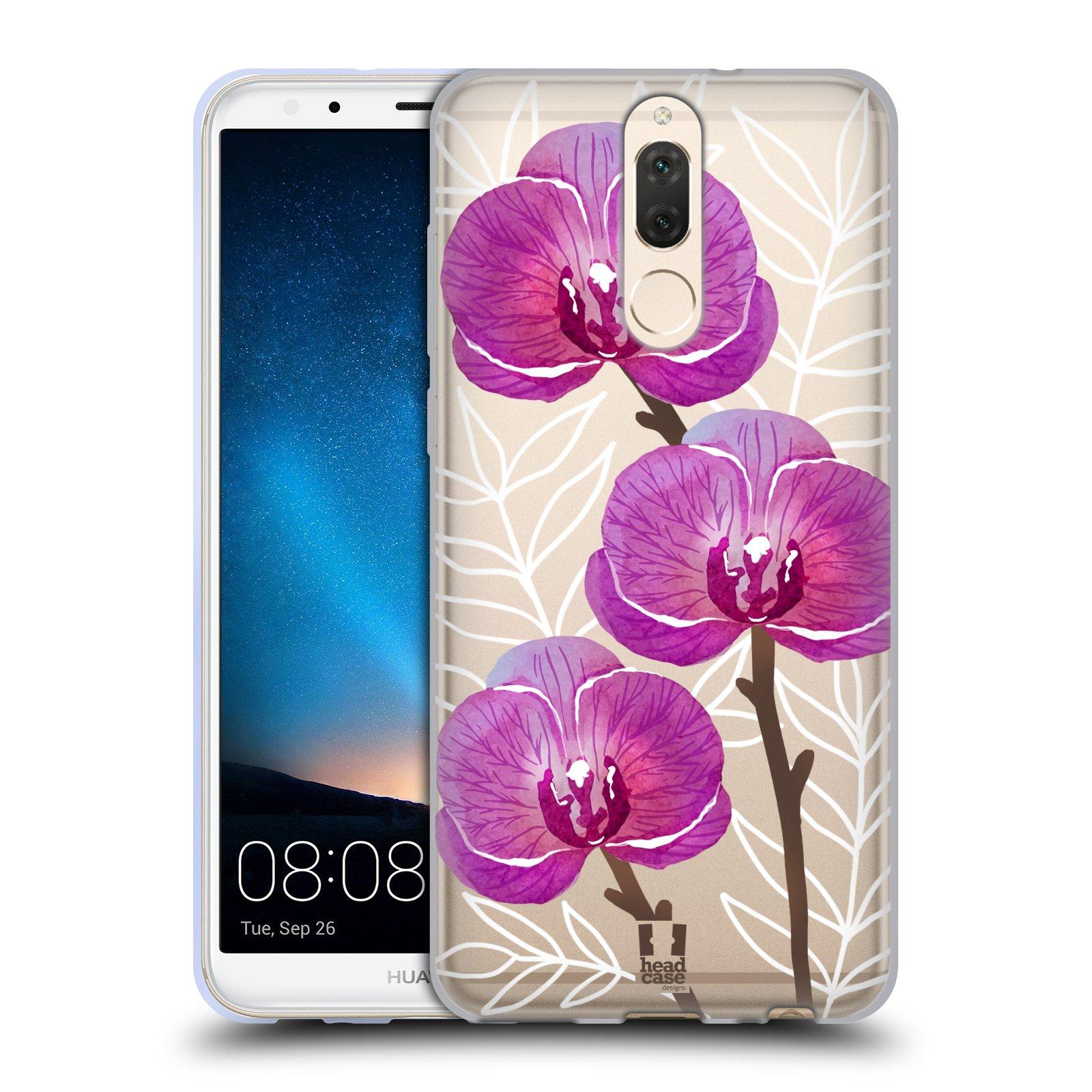 Silikonové pouzdro na mobil Huawei Mate 10 Lite - Head Case - Hezoučké kvítky - průhledné