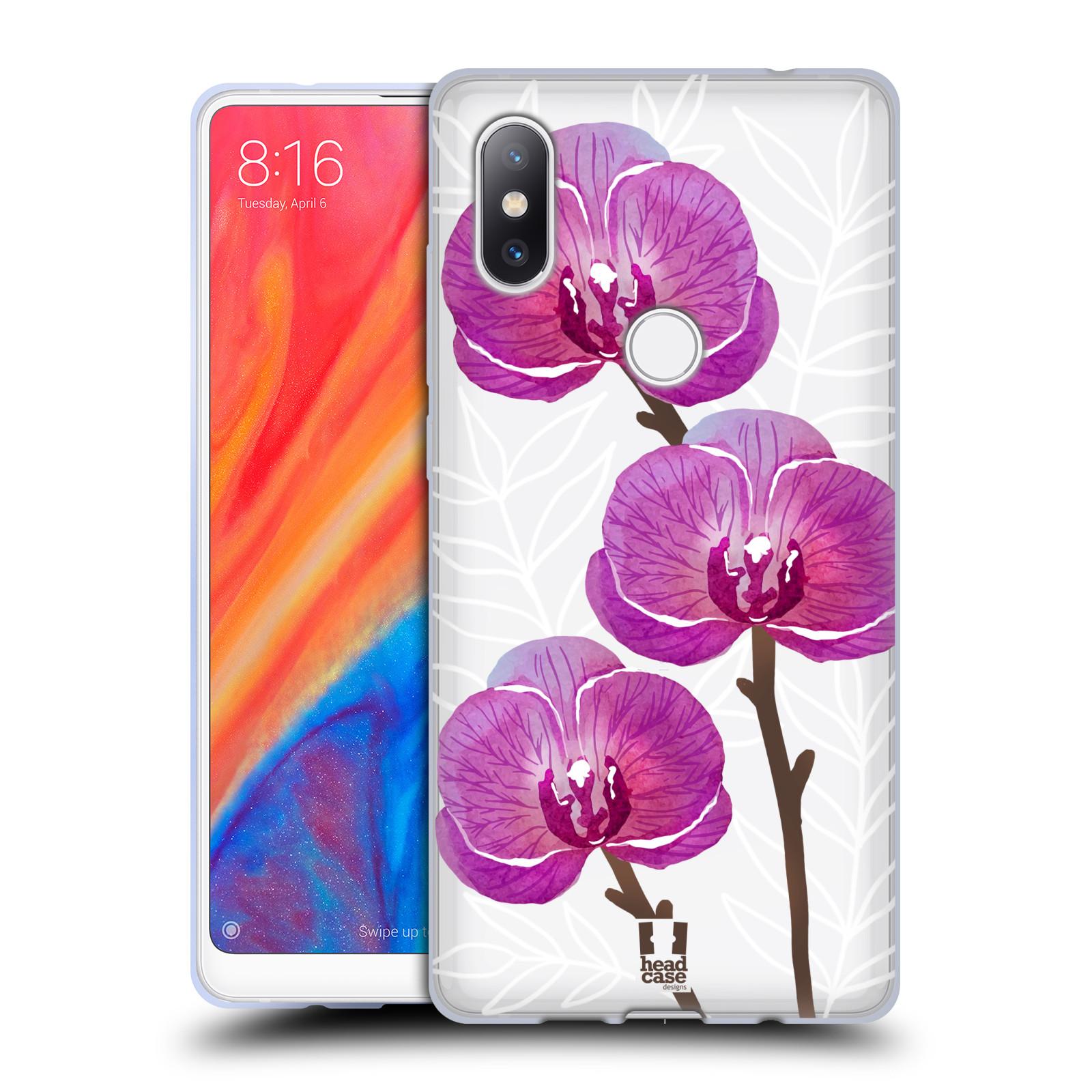 Silikonové pouzdro na mobil Xiaomi Mi Mix 2S - Head Case - Hezoučké kvítky - průhledné
